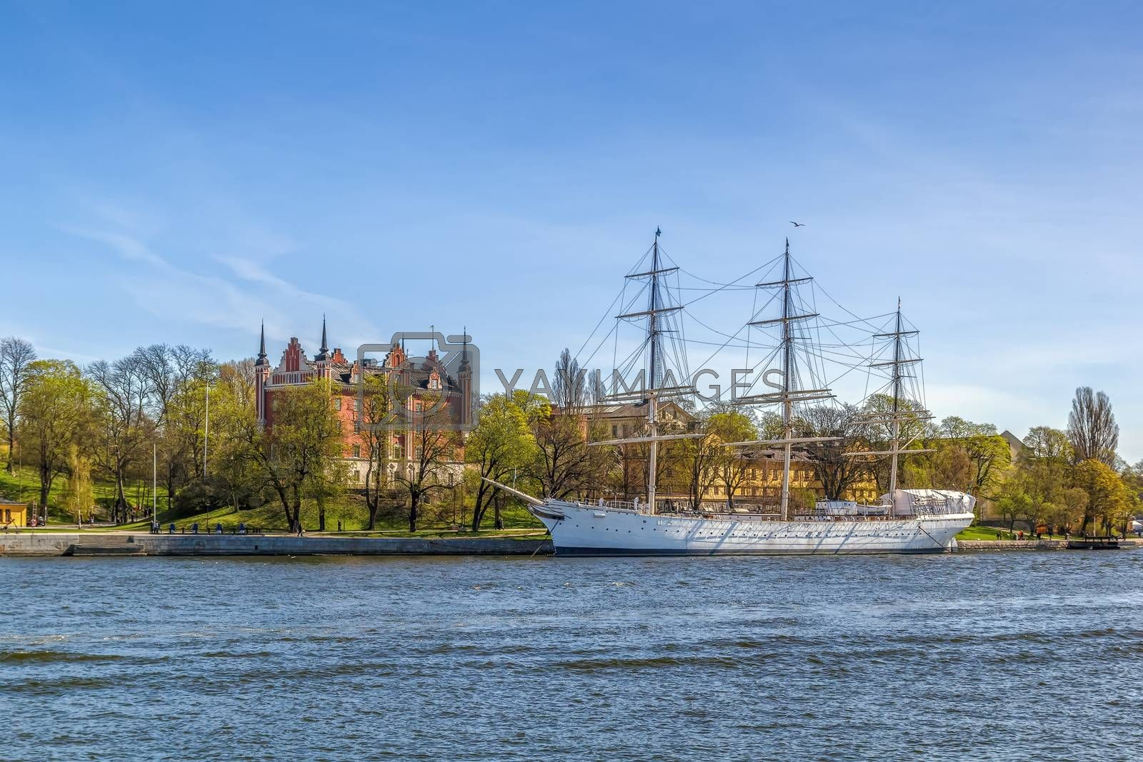 af Chapman (ship) in Stockholm by borisb17