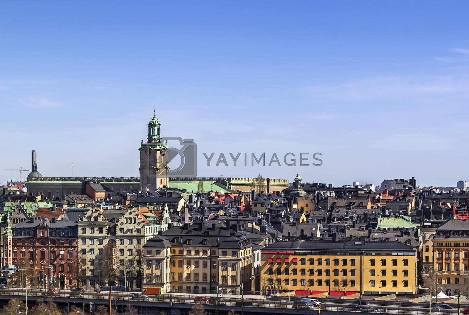 view of Gamla Stan, Stockholm by borisb17