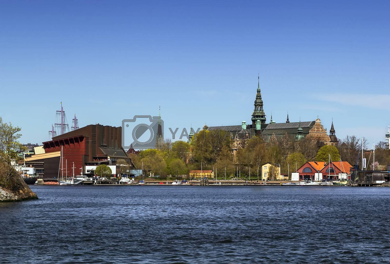 Nordic Museum and Vasa ship Museum, Stockholm by borisb17