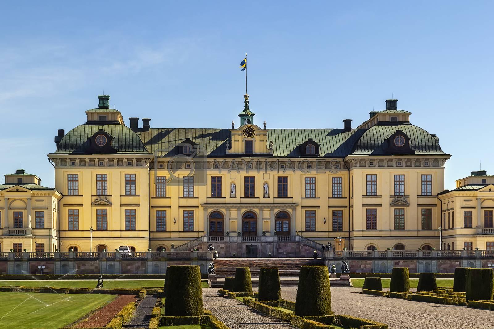 Drottningholm Palace, Stockholm by borisb17