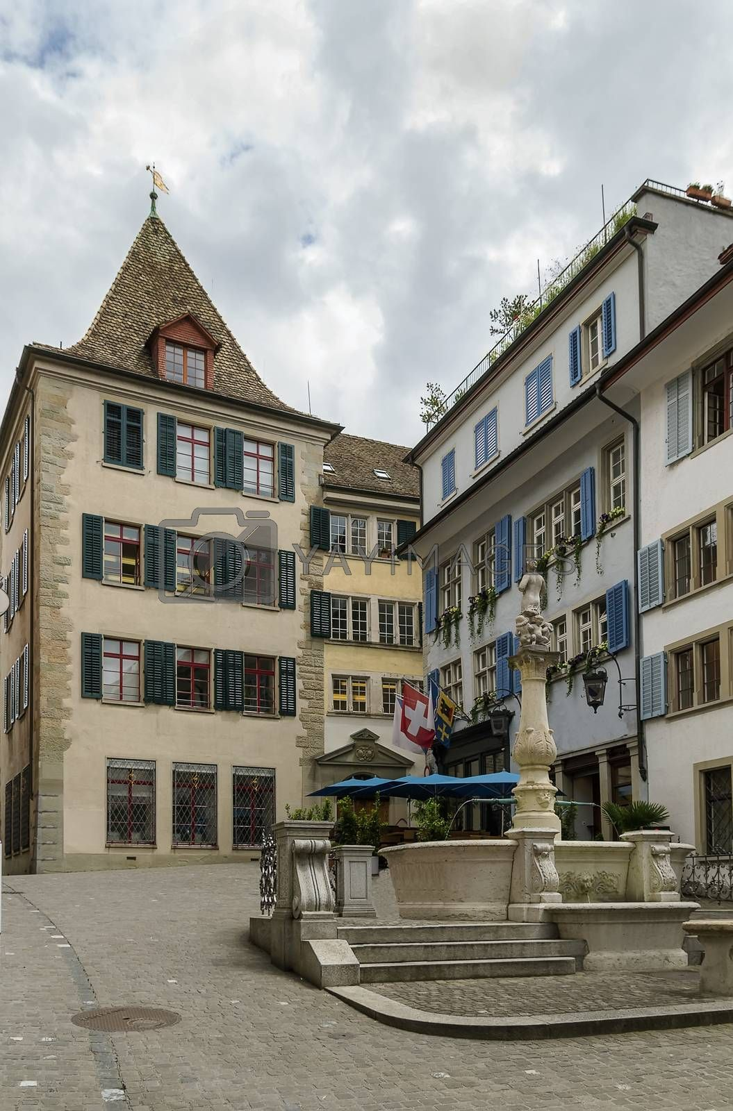 Small square in Zurich by borisb17