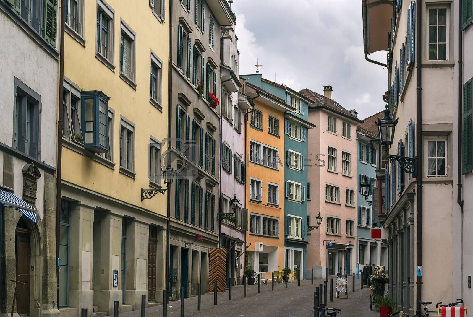 street in Zurich by borisb17