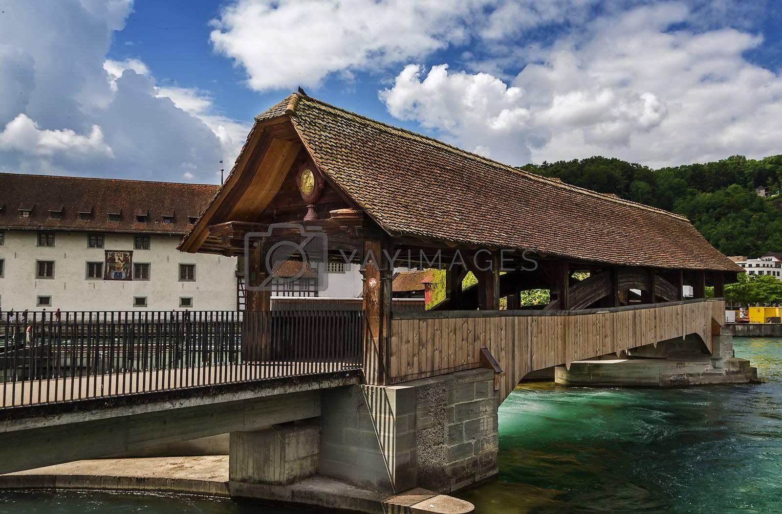 Spreuer Bridge, Lucerne by borisb17
