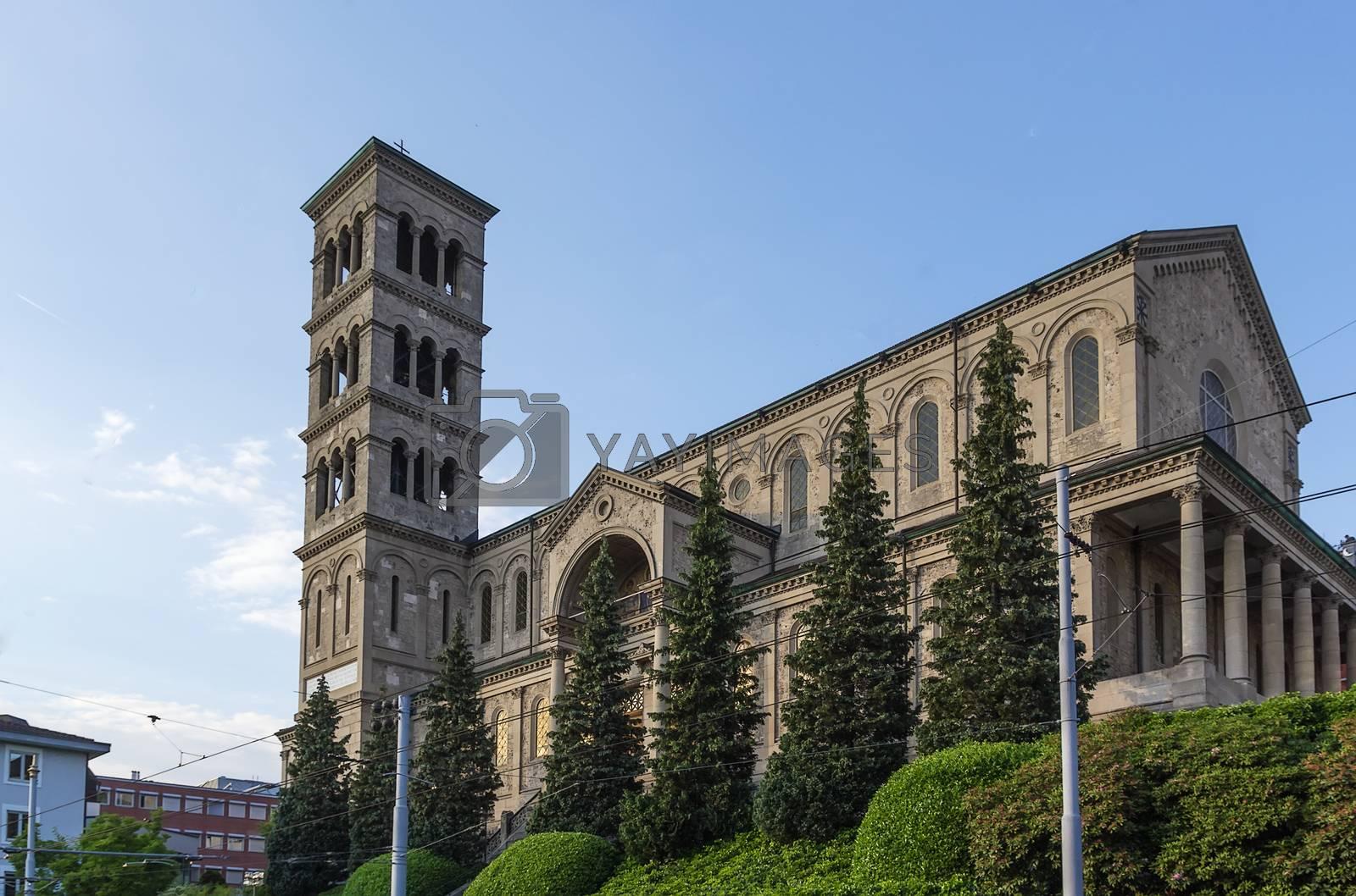 Liebfrauen church, Zurich by borisb17