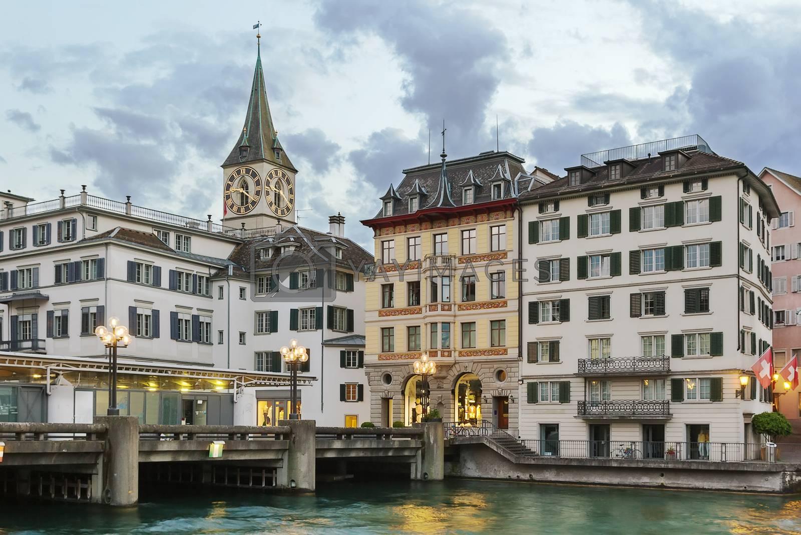 St. Peter church, Zurich by borisb17