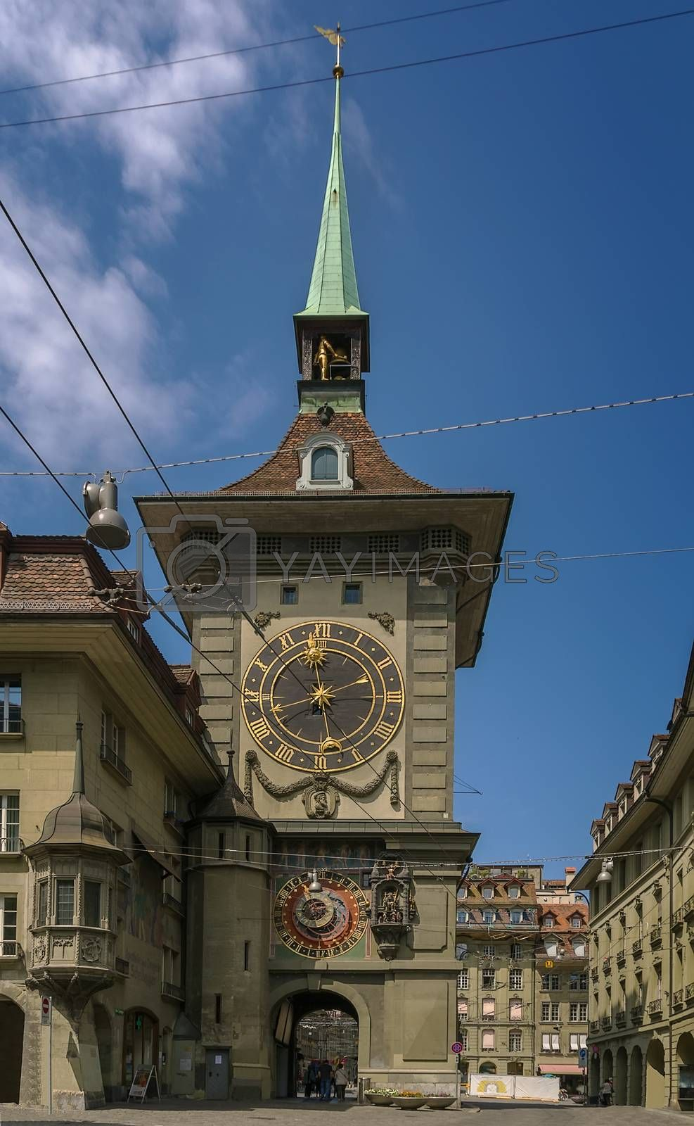 Clock tower, Bern by borisb17