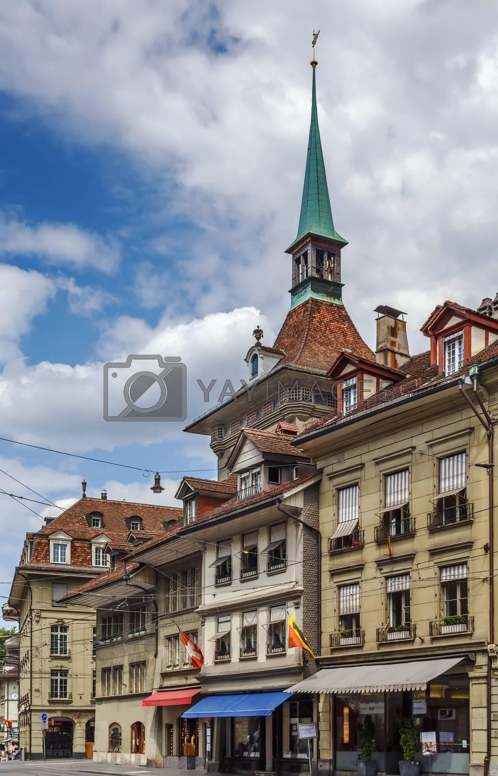 street in Bern by borisb17