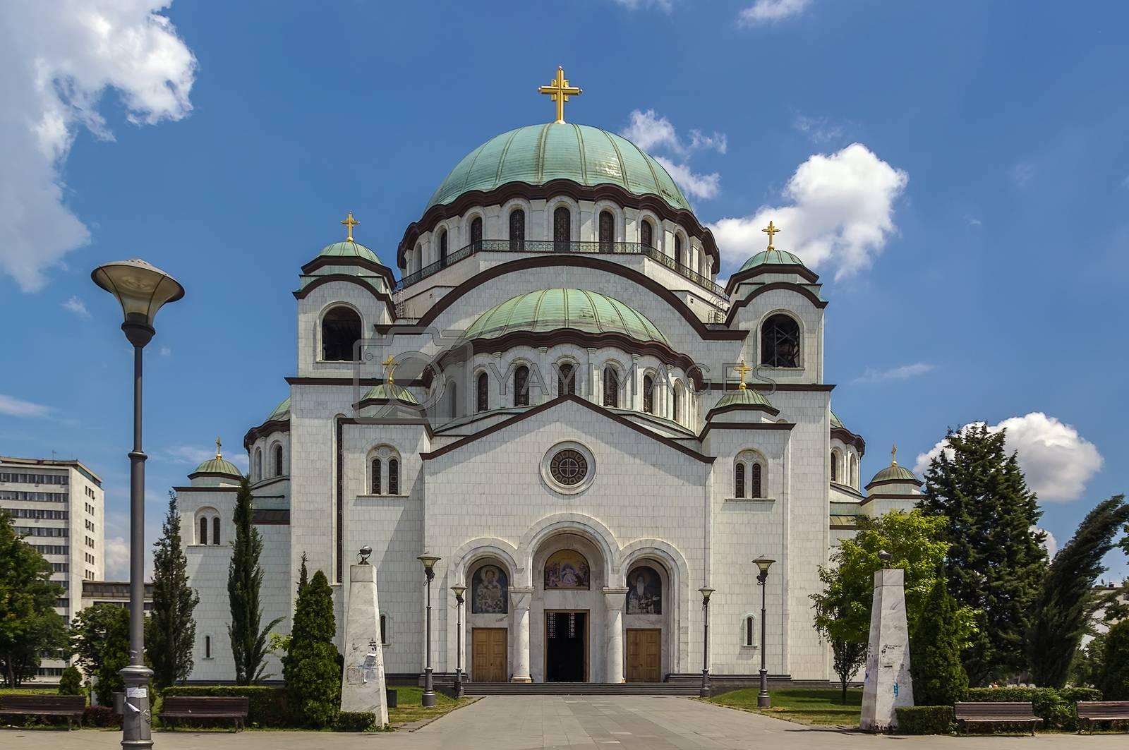 Church of Saint Sava, Belgrade by borisb17