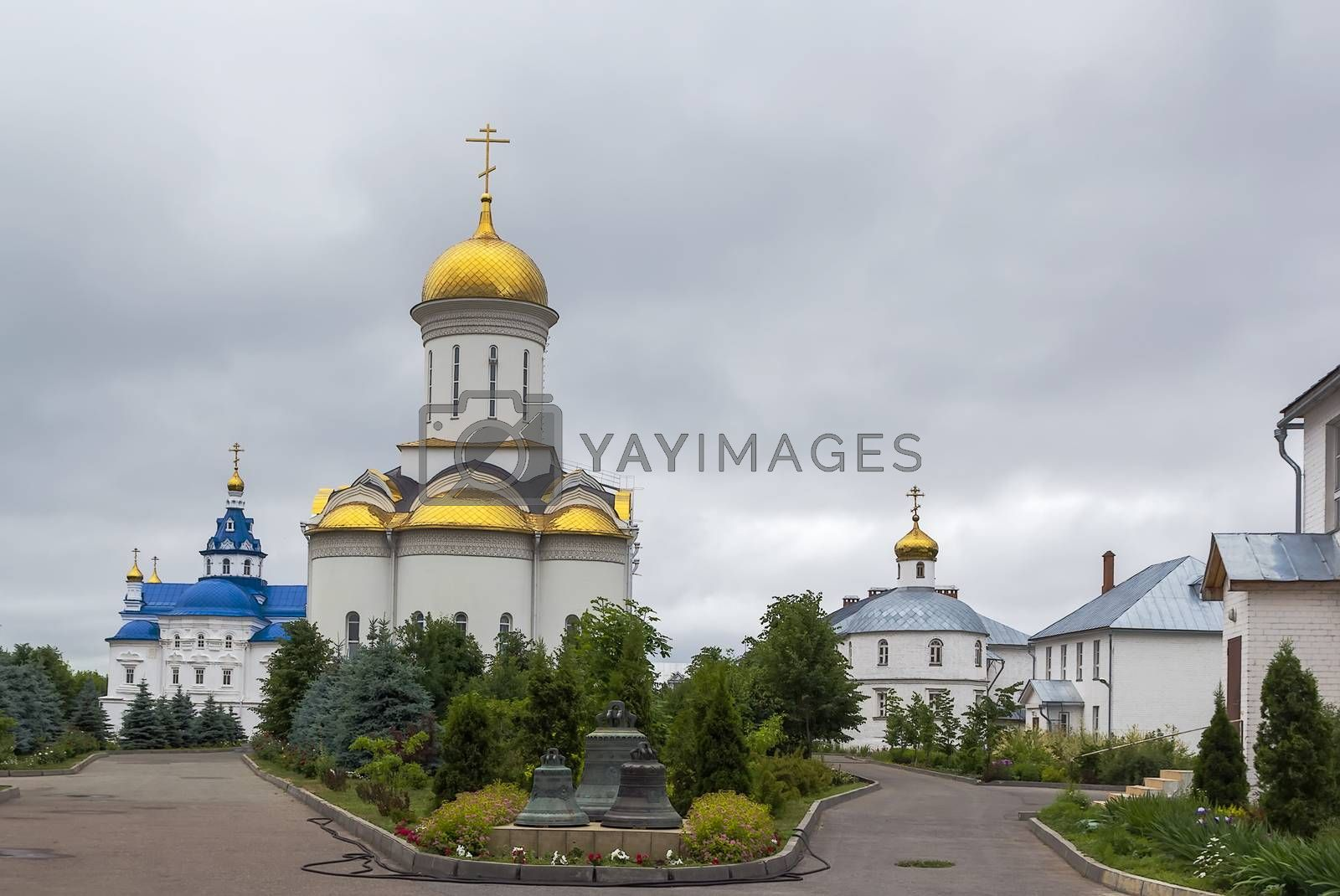 The Assumption Zilantov convent, Kazan by borisb17