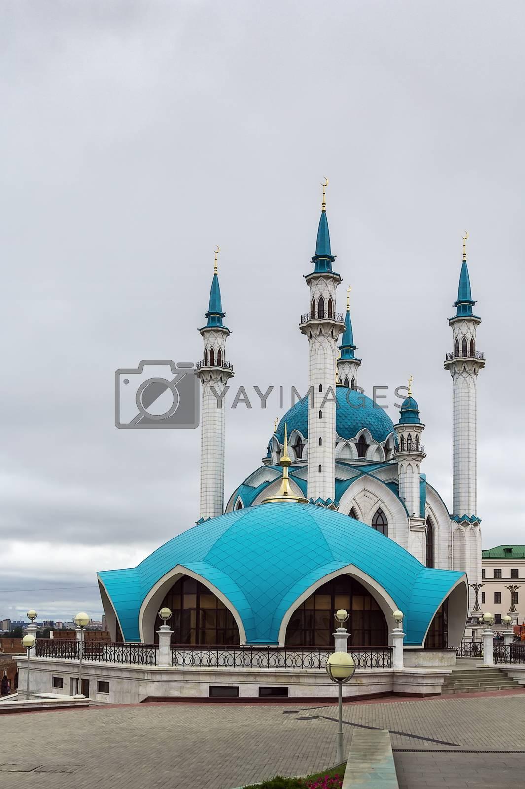 Qolsarif Mosque, Kazan by borisb17