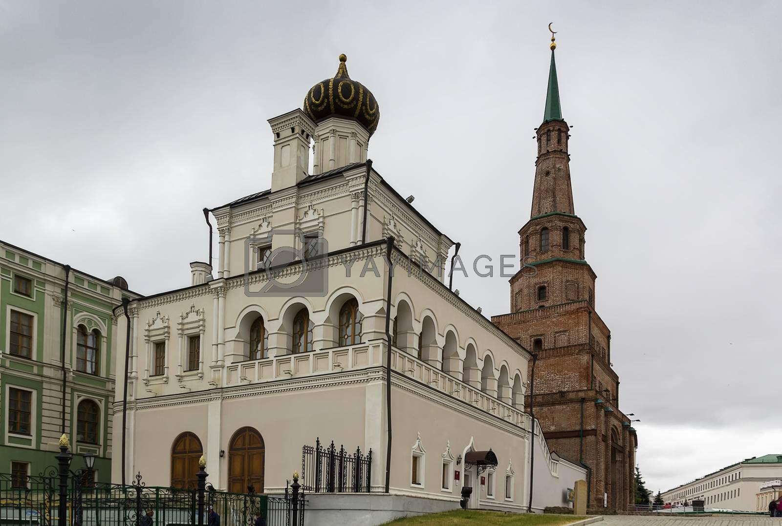 Palace church, Kazan by borisb17
