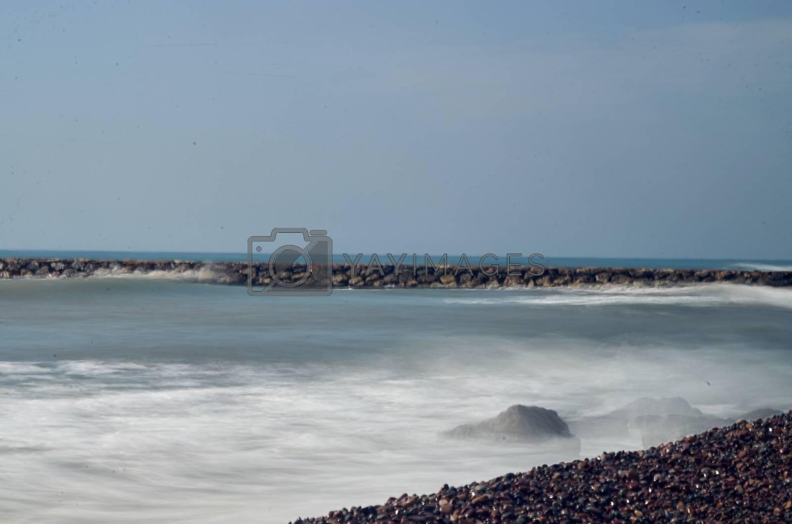 Long exposure Puzol beach by BPardoFotografia