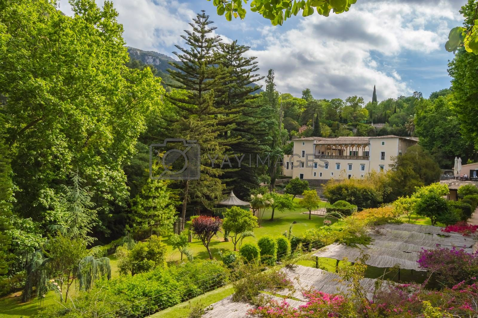 View of La Granja de Esporles the museum of tradition and histor by Philou1000