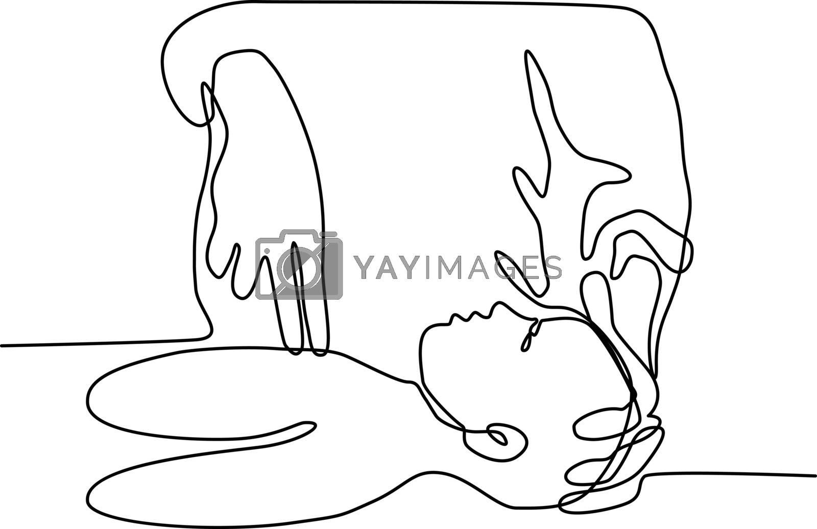 Cardiopulmonary Resuscitation Continuous Line by patrimonio