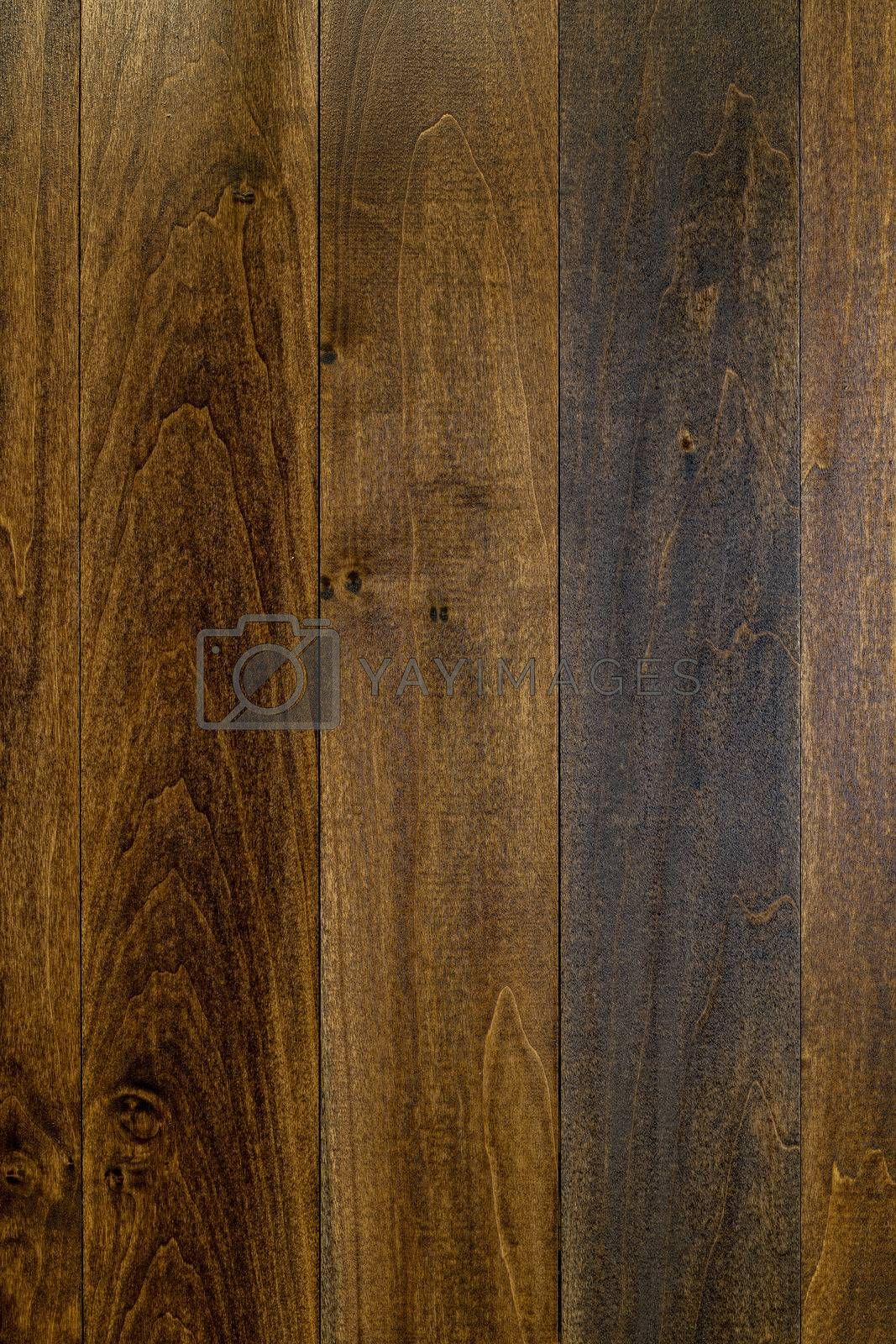 Dark Stained Planking Background by Charlie Floyd