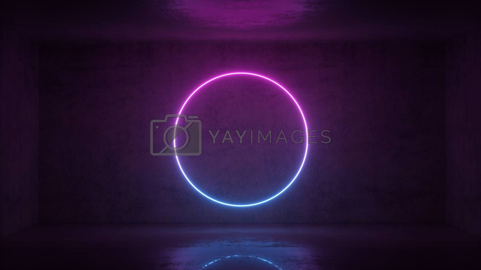 3d Render Of Neon Circle Frame On Background In The Room Banner Design Retrowave Synthwave Vaporwave Illustration Royalty Free Stock Image Stock Photos Royalty Free Images Vectors Footage Yayimages