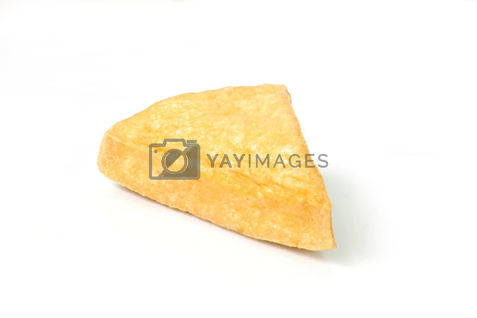 Fried Tofu. by thitimon