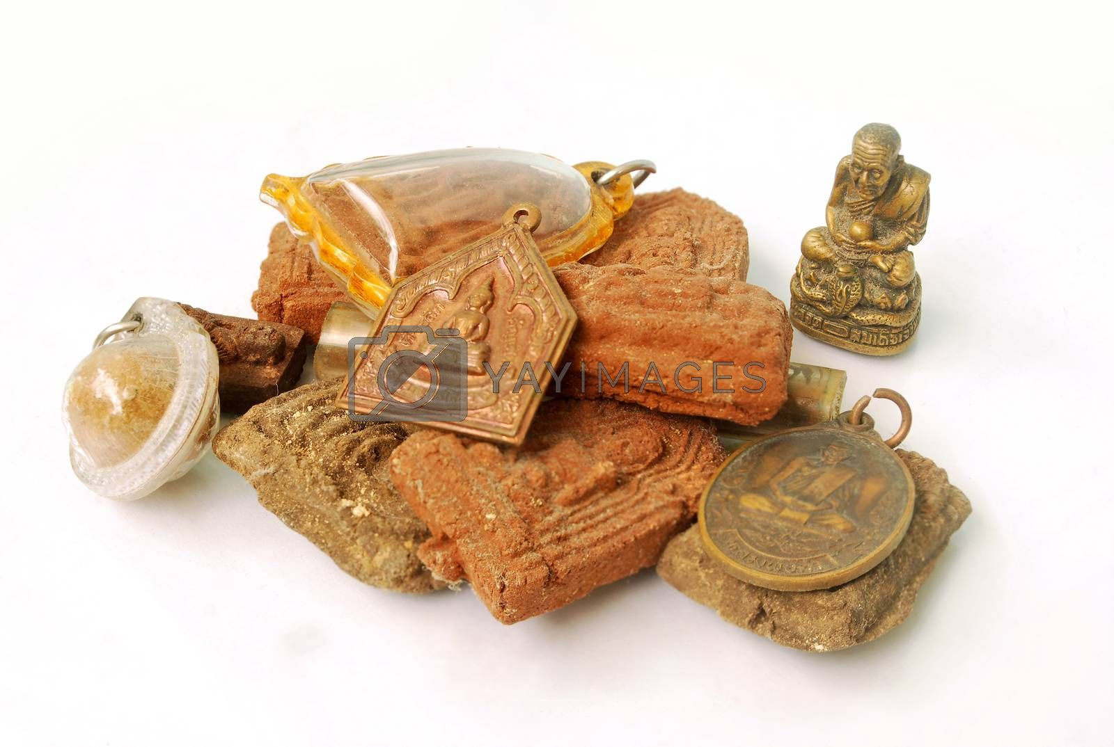 Thai sacred objects. by thitimon