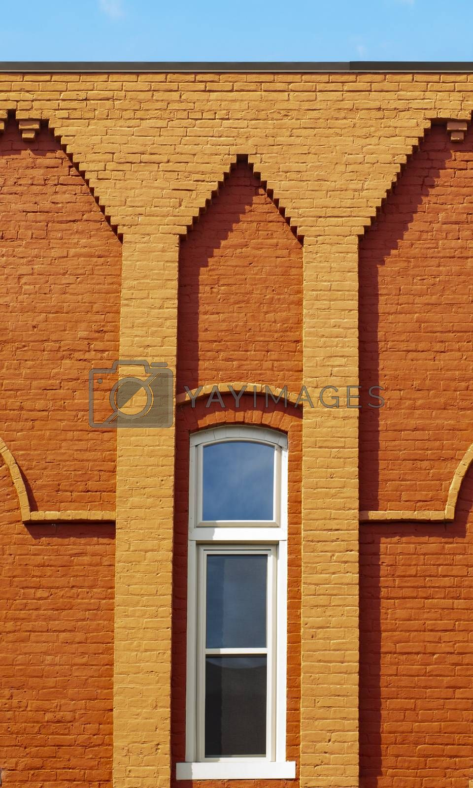 Small Town Decorative Brick Buildings by Charlie Floyd