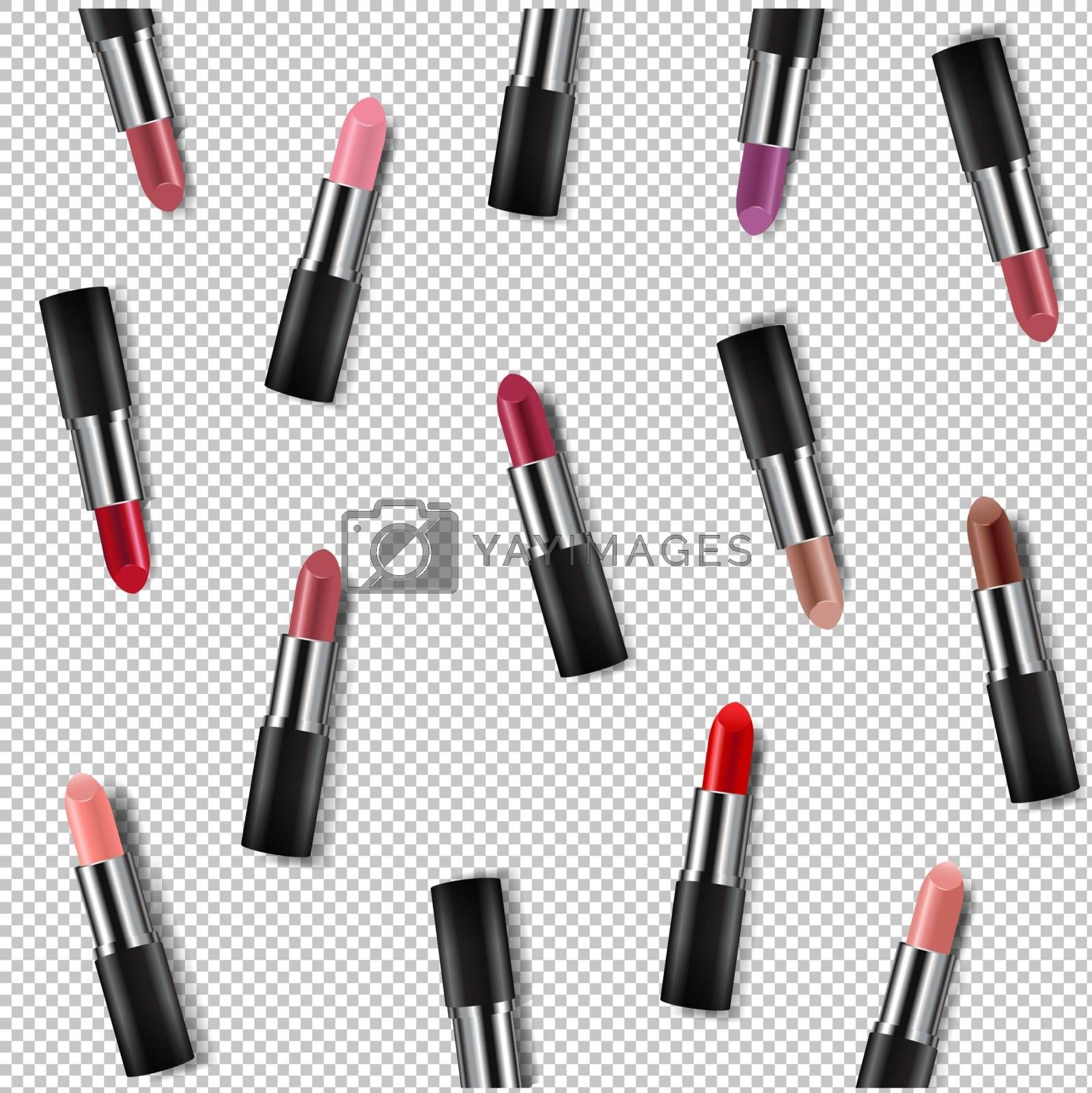 Color Lipsticks Poster Transparent Background by adamson