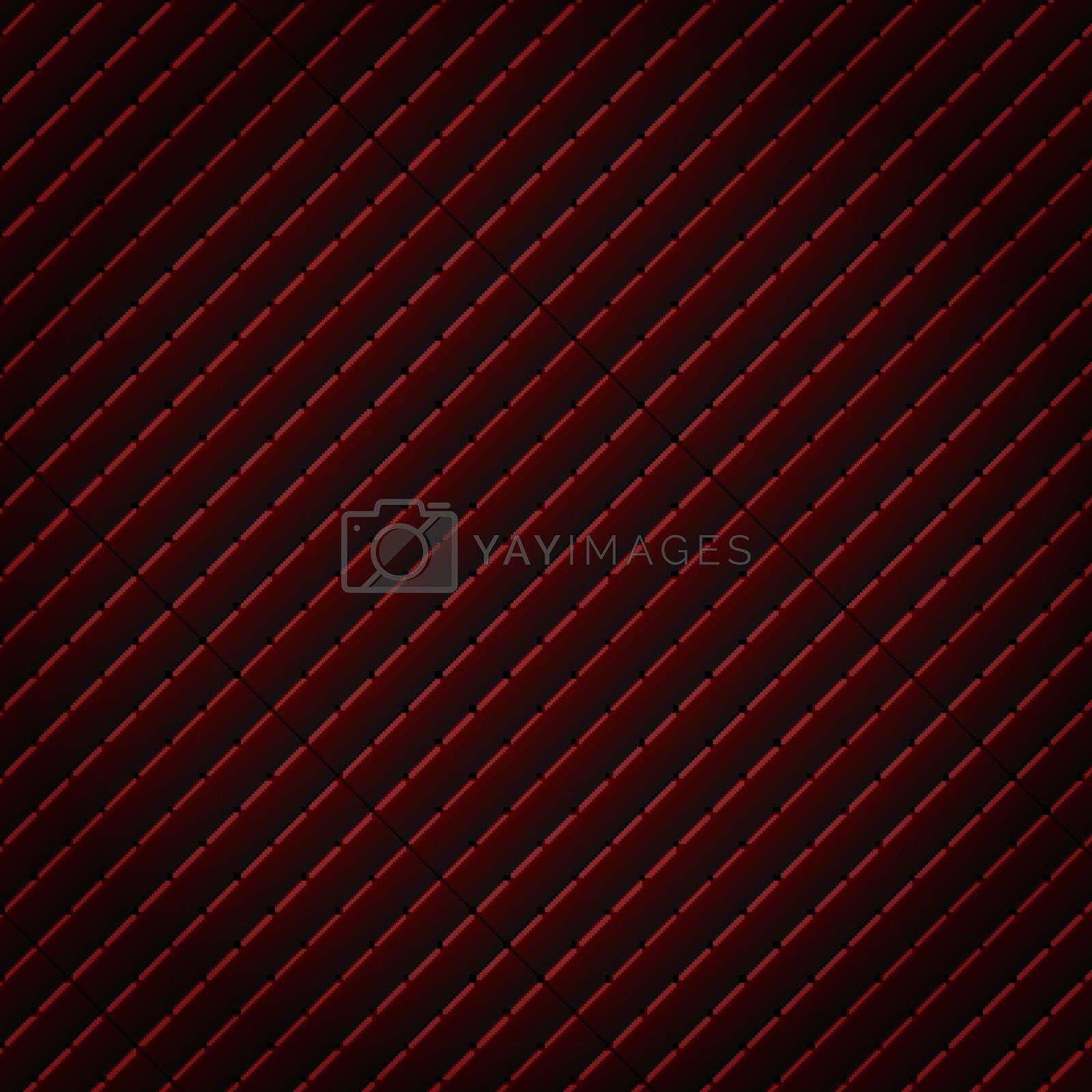 Abstract black and red subtle lattice square pattern background and texture. Luxury style. Repeat geometric grid. vector illustration