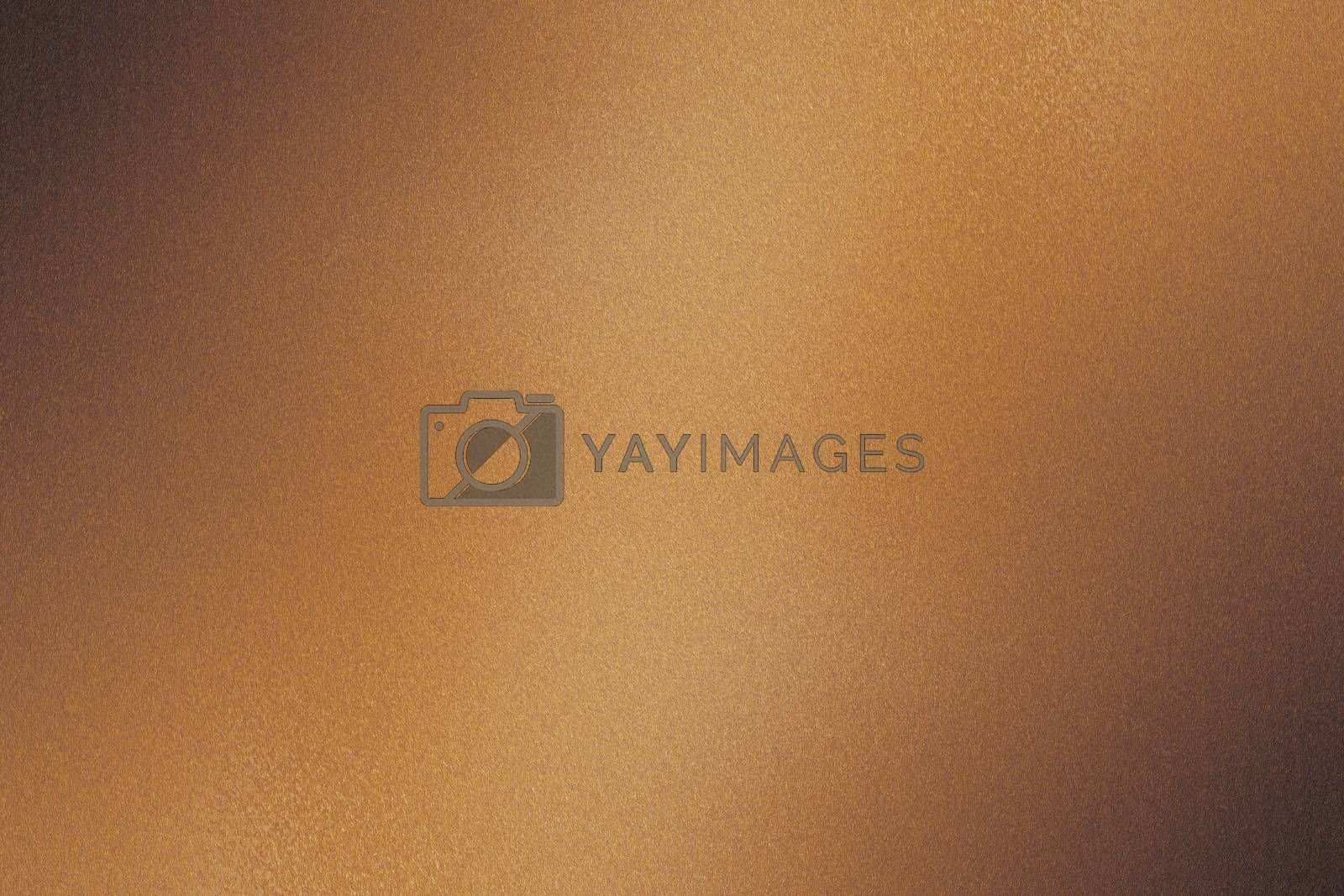 Brushed brown metallic wall, abstract texture background