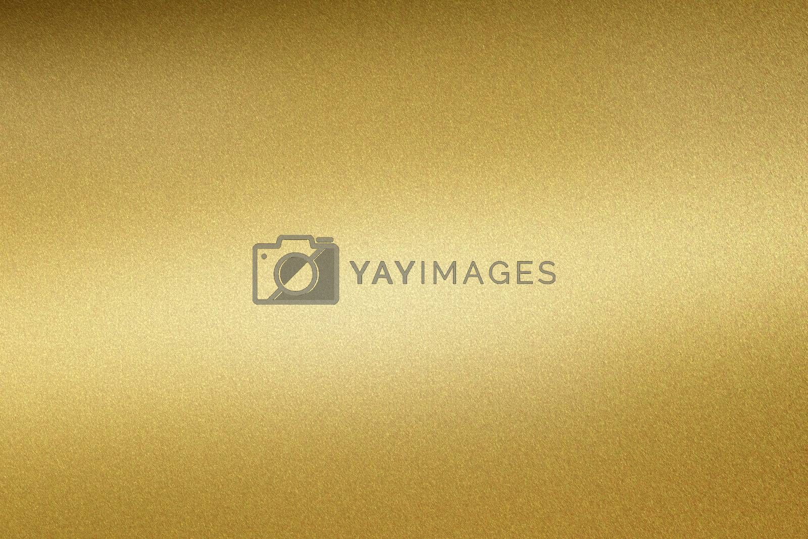 Glowing gold steel tube surface, abstract texture background