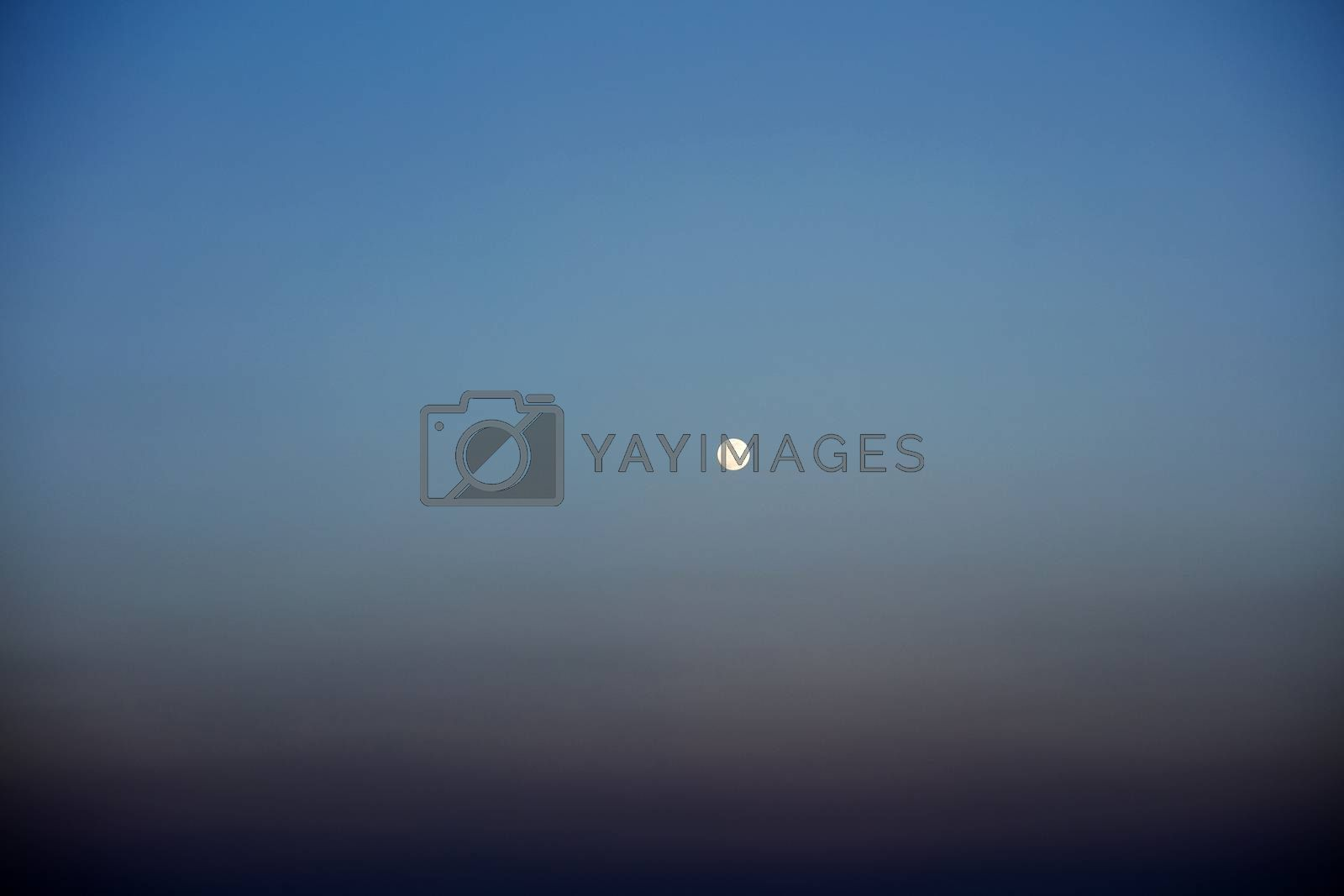 Beautiful moon view from boat background high quality prints