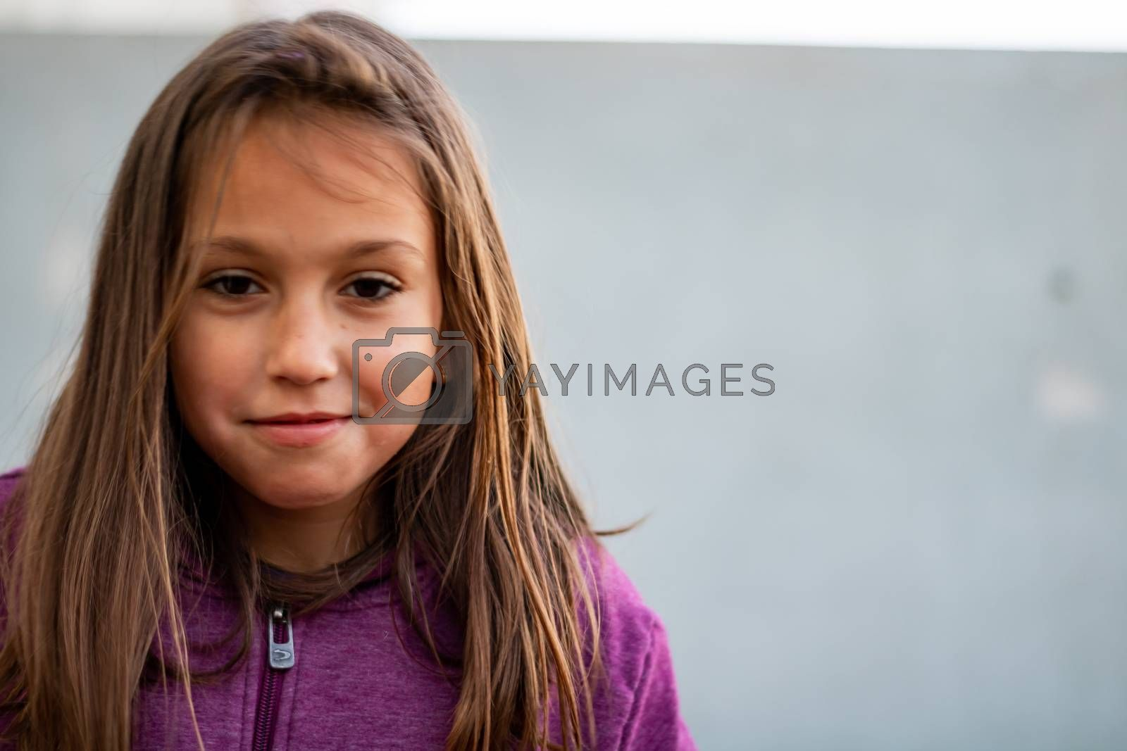 Portrait of little girl by Barriolo82