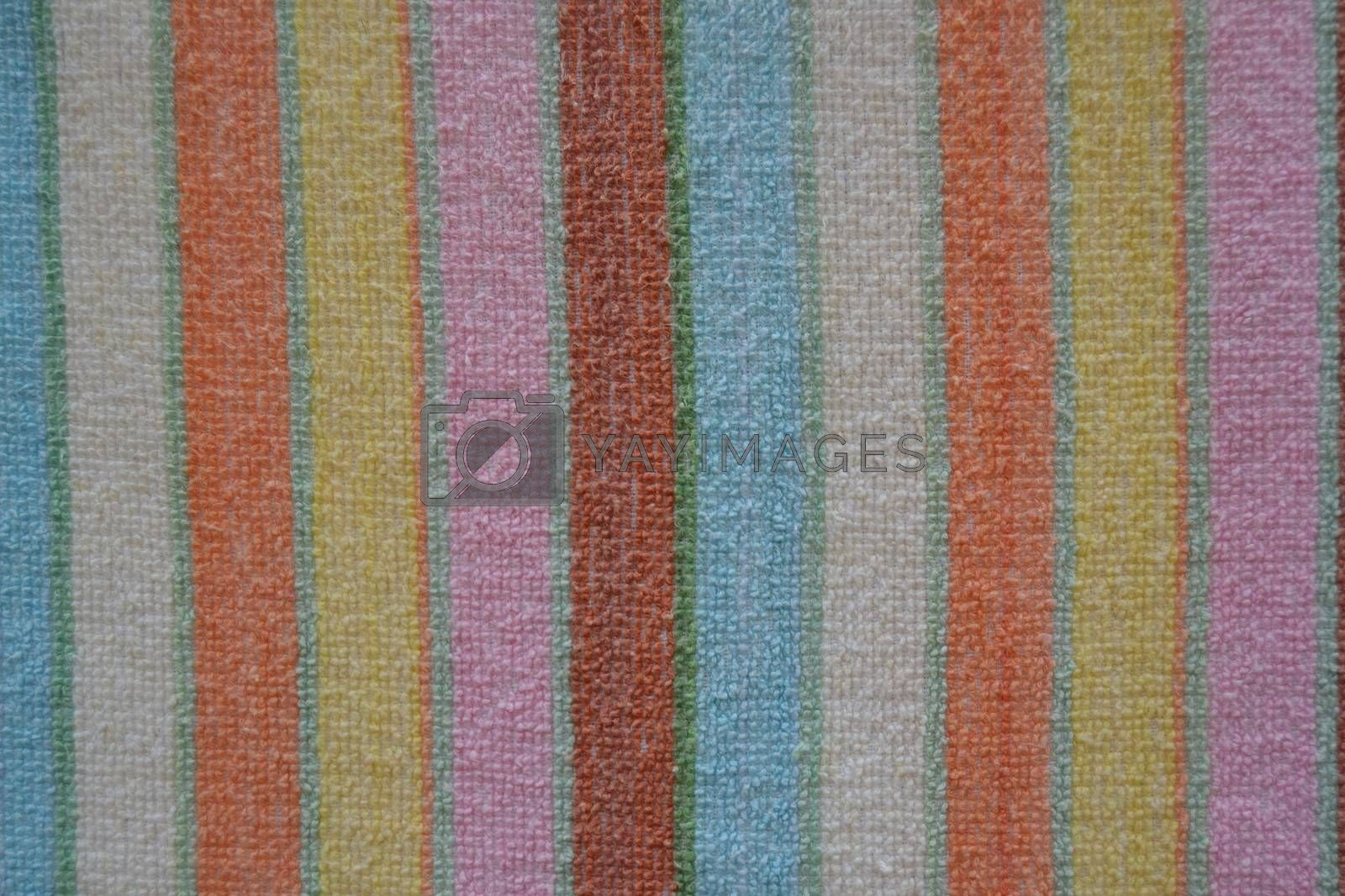 Fund of vertical stripes of several colors