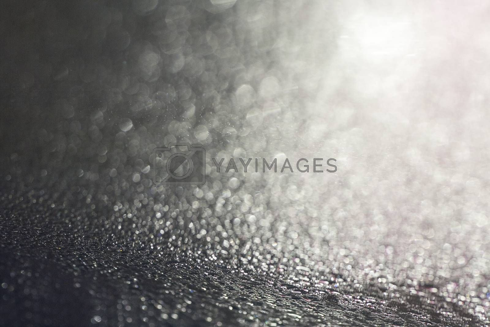 Water drops macro background fine art in high quality natural bokeh effect prints