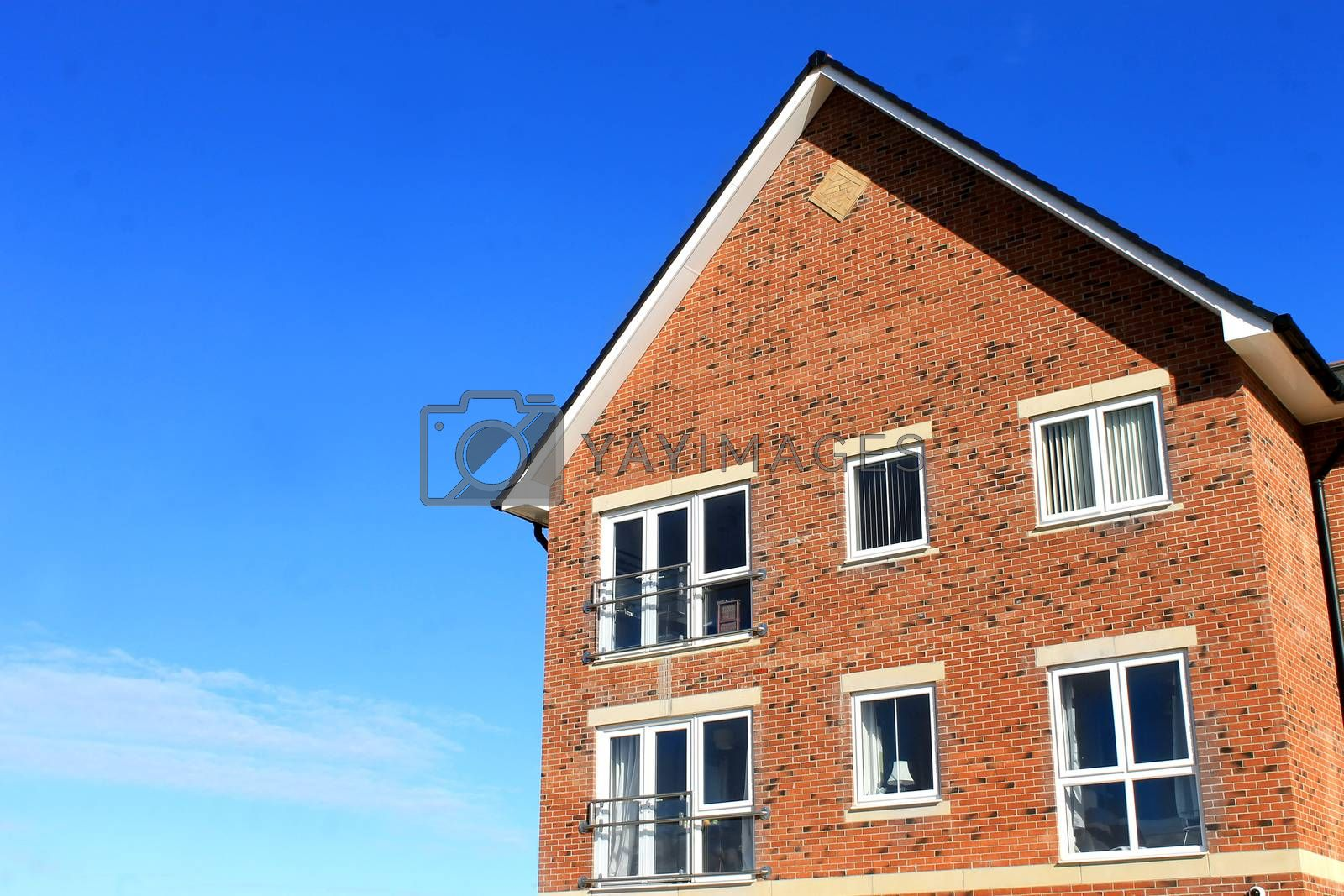 Royalty free image of Corner of modern house by speedfighter