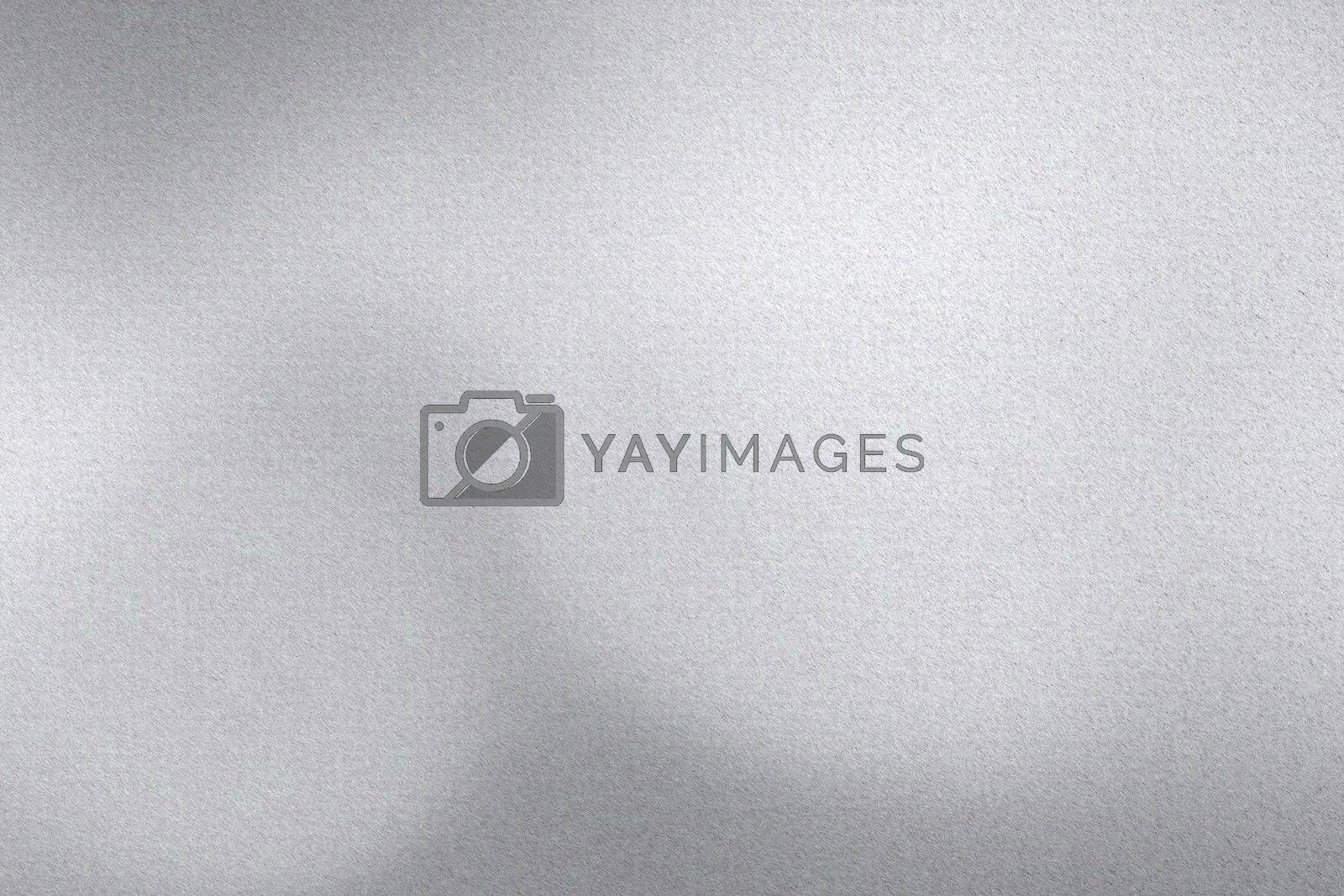 Royalty free image of Brushed silver metal wall, abstract texture background by mouu007