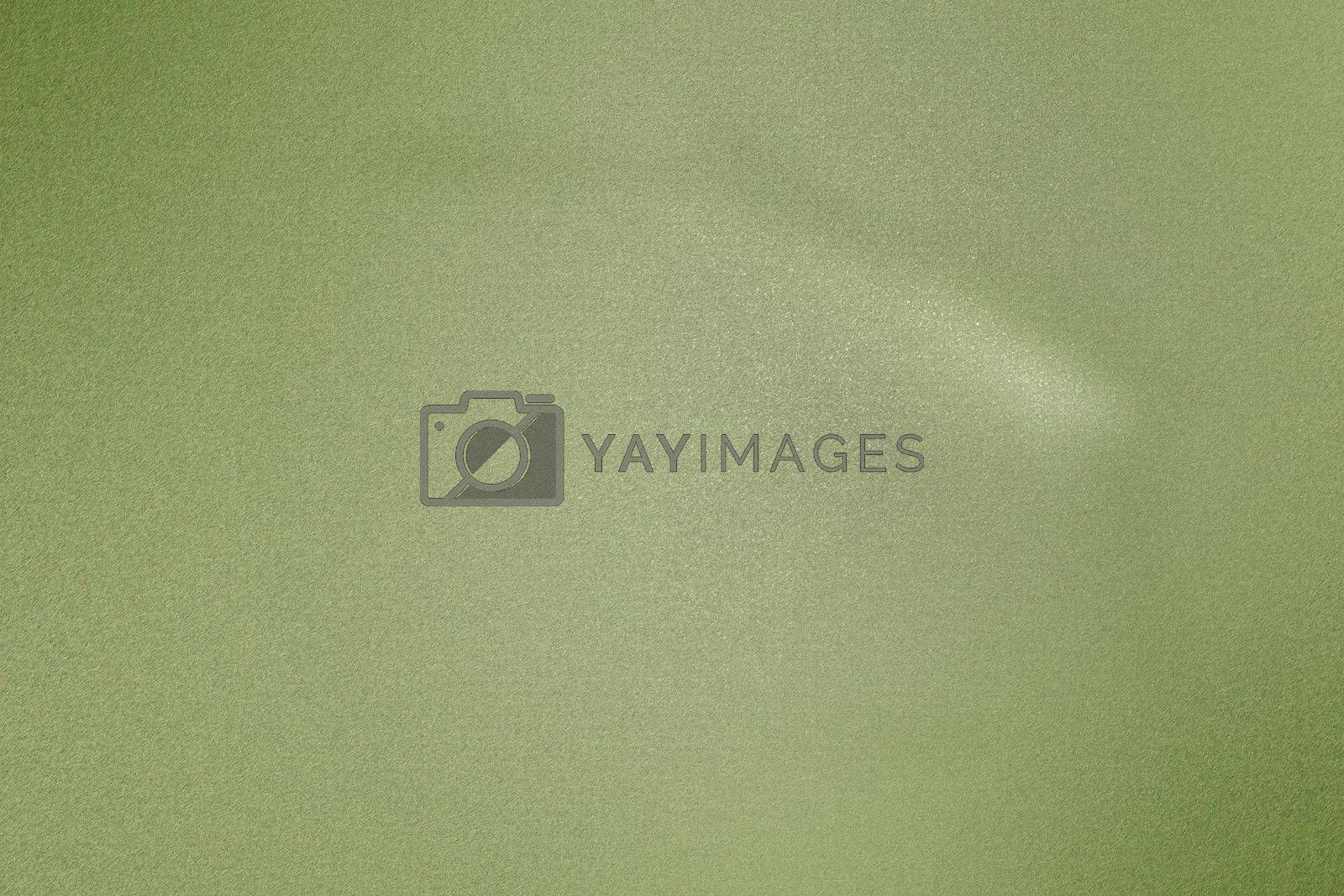 Royalty free image of Light green rough metal wall, abstract texture background by mouu007