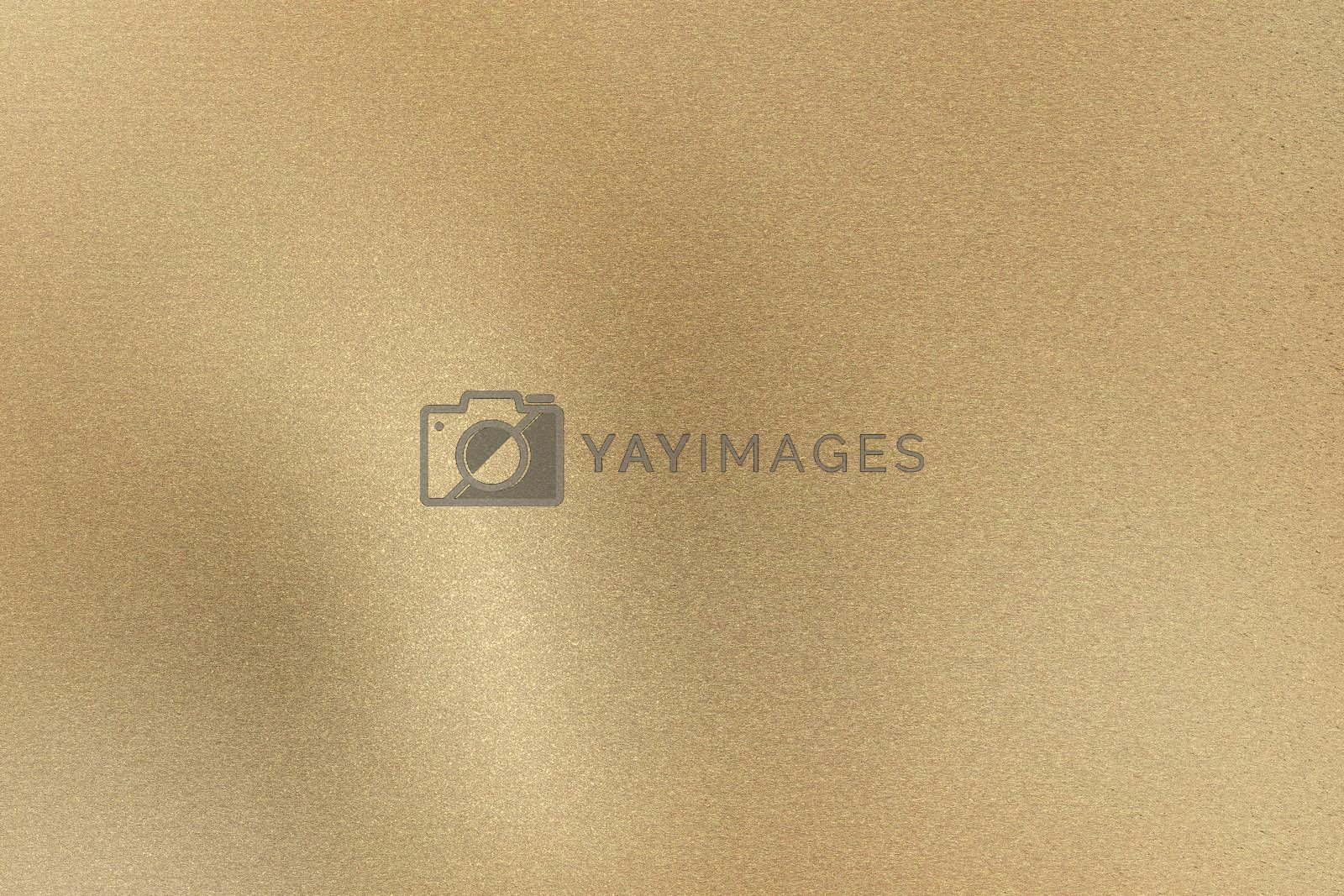 Royalty free image of Glowing light brown brushed metal wall, abstract texture background by mouu007