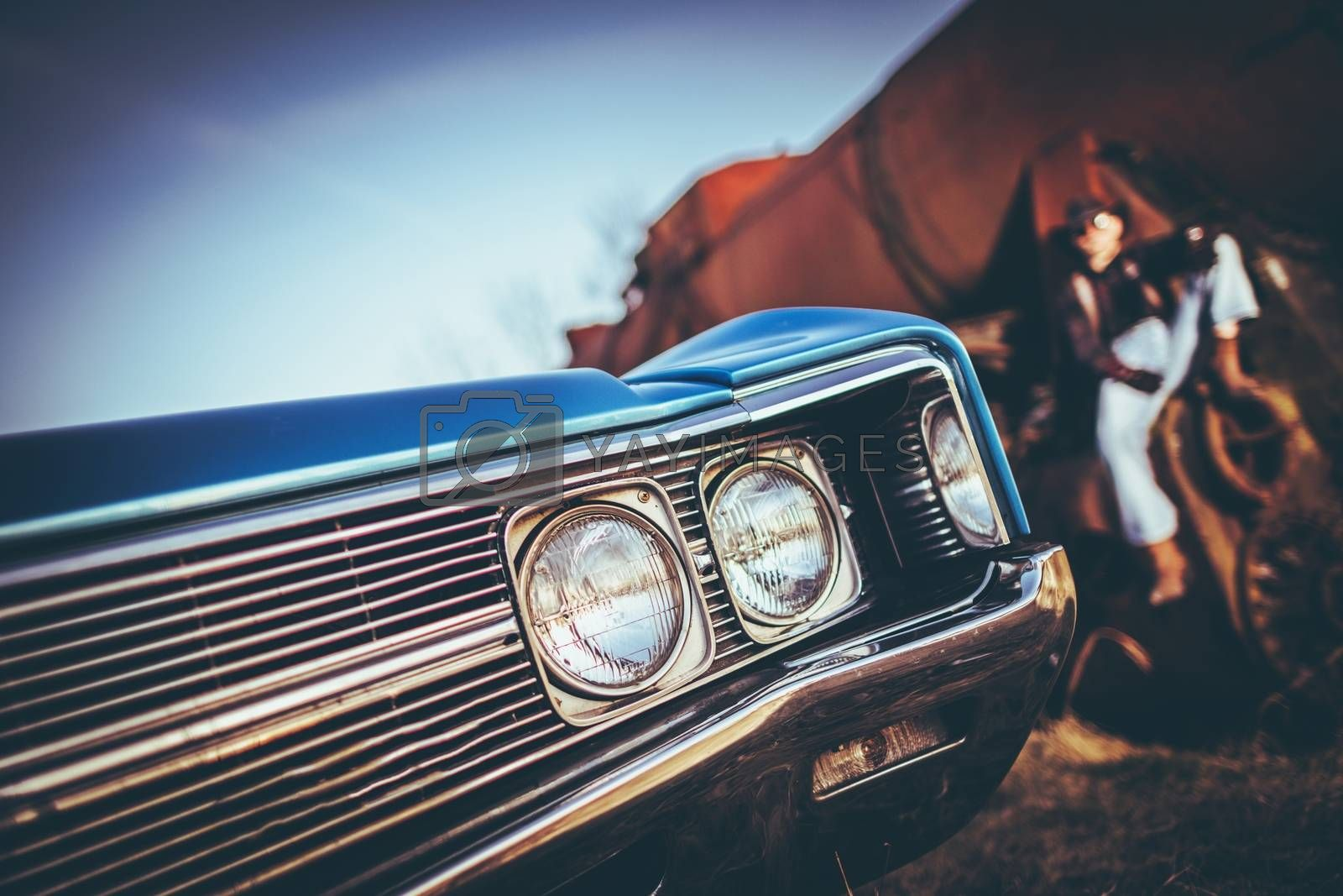 Royalty free image of American Classic Ride by welcomia