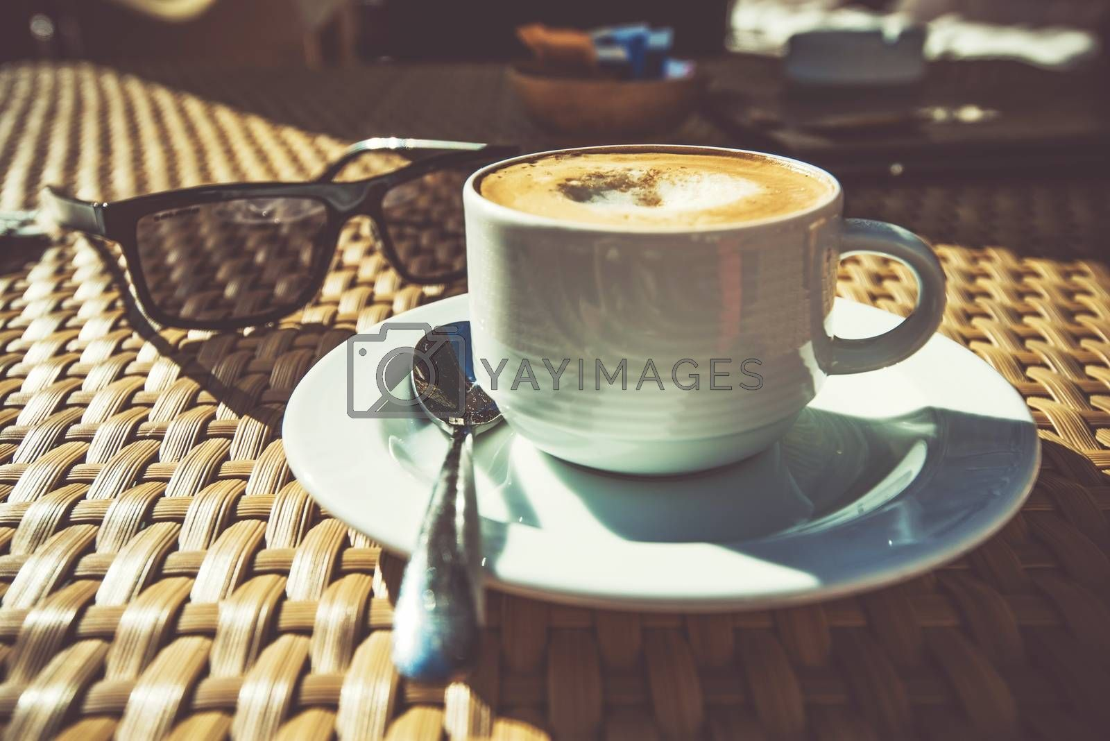 Royalty free image of Summer Time Cappuccino by welcomia