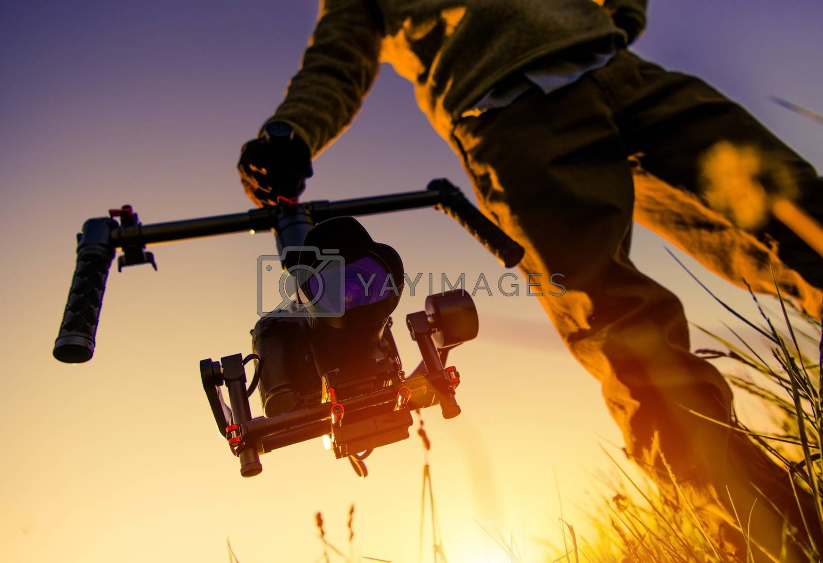 Royalty free image of Camera Gimbal Stabilization by welcomia