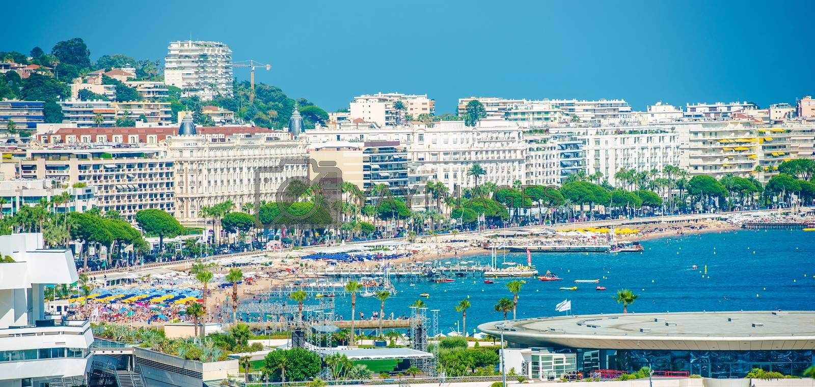 Royalty free image of City of Cannes France by welcomia