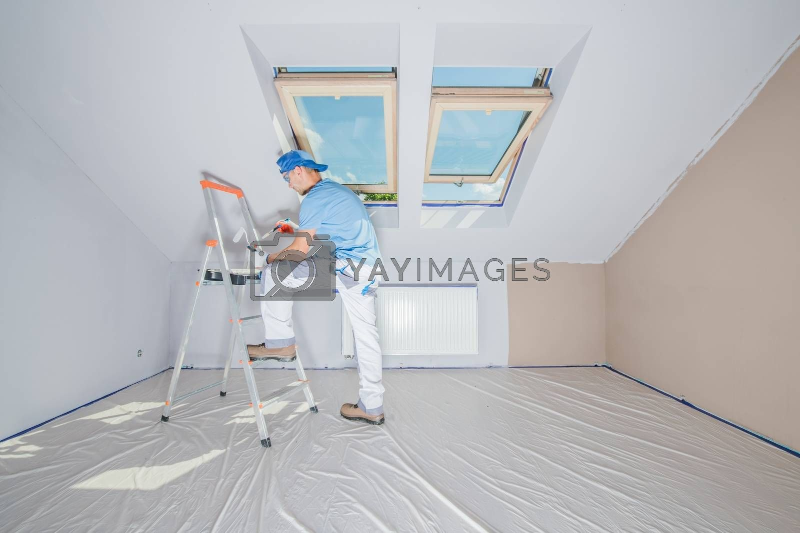 Royalty free image of Repainting Home Interior by welcomia