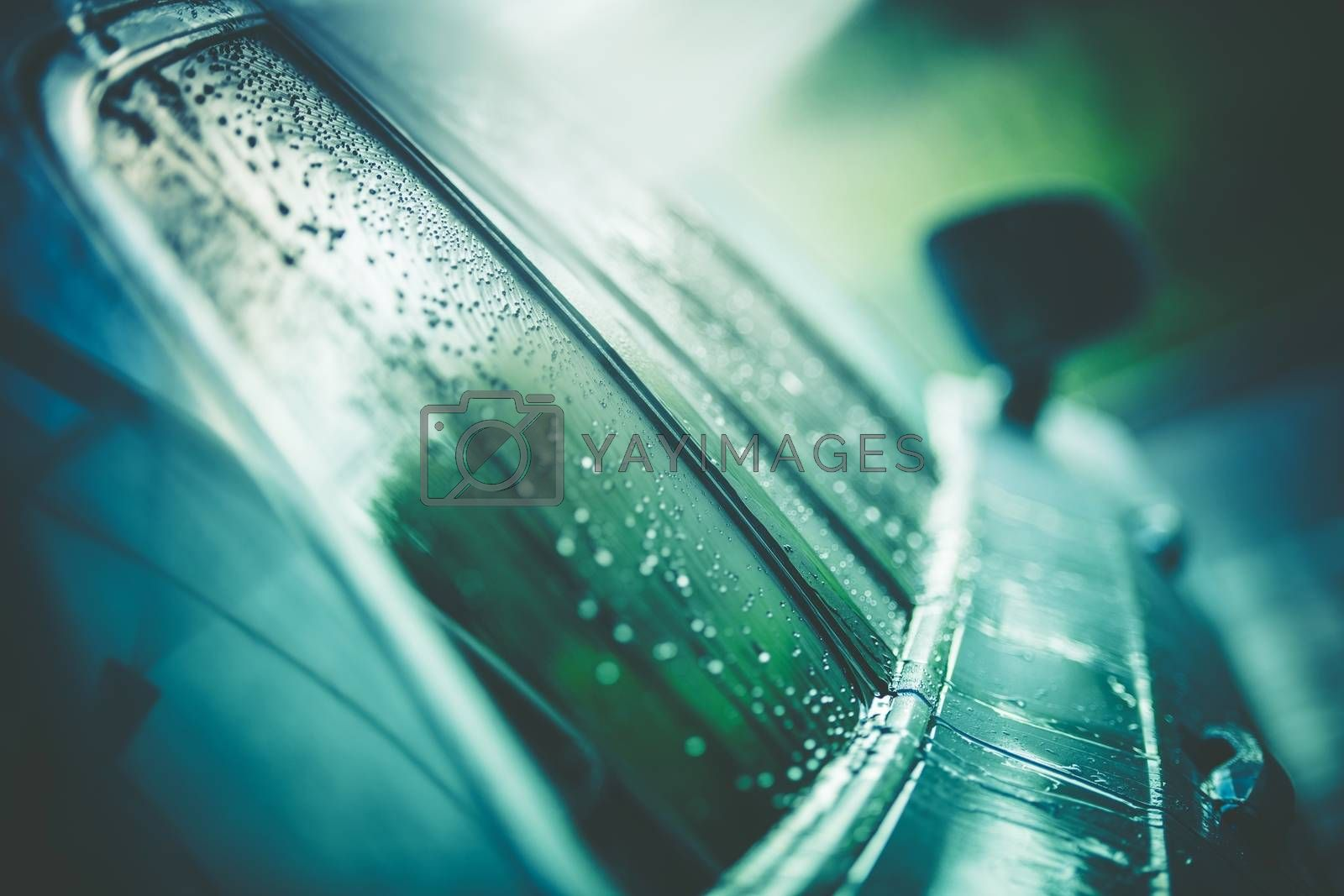 Royalty free image of Clean Car Body After Wash by welcomia