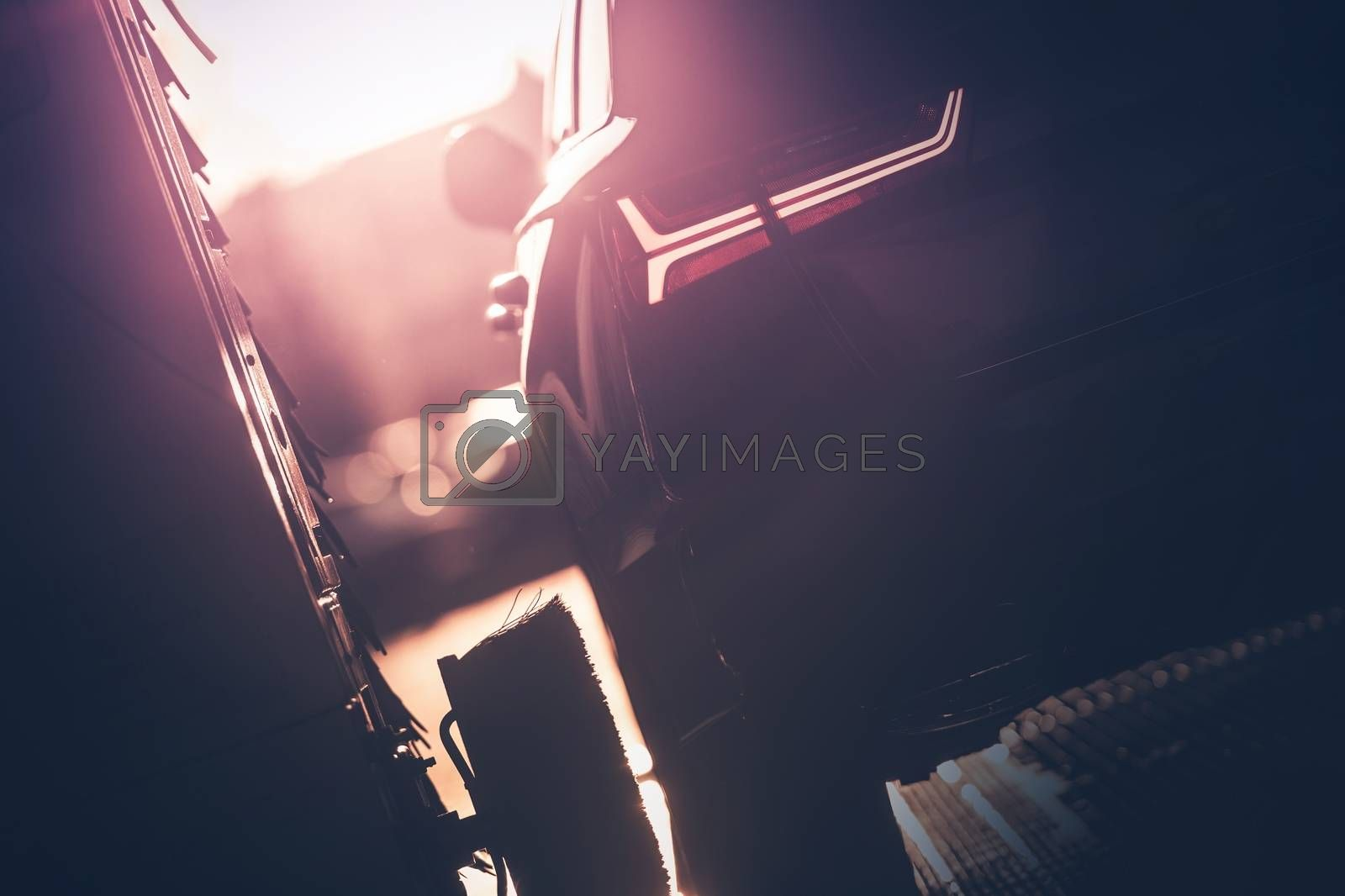 Royalty free image of Professional Car Washing by welcomia