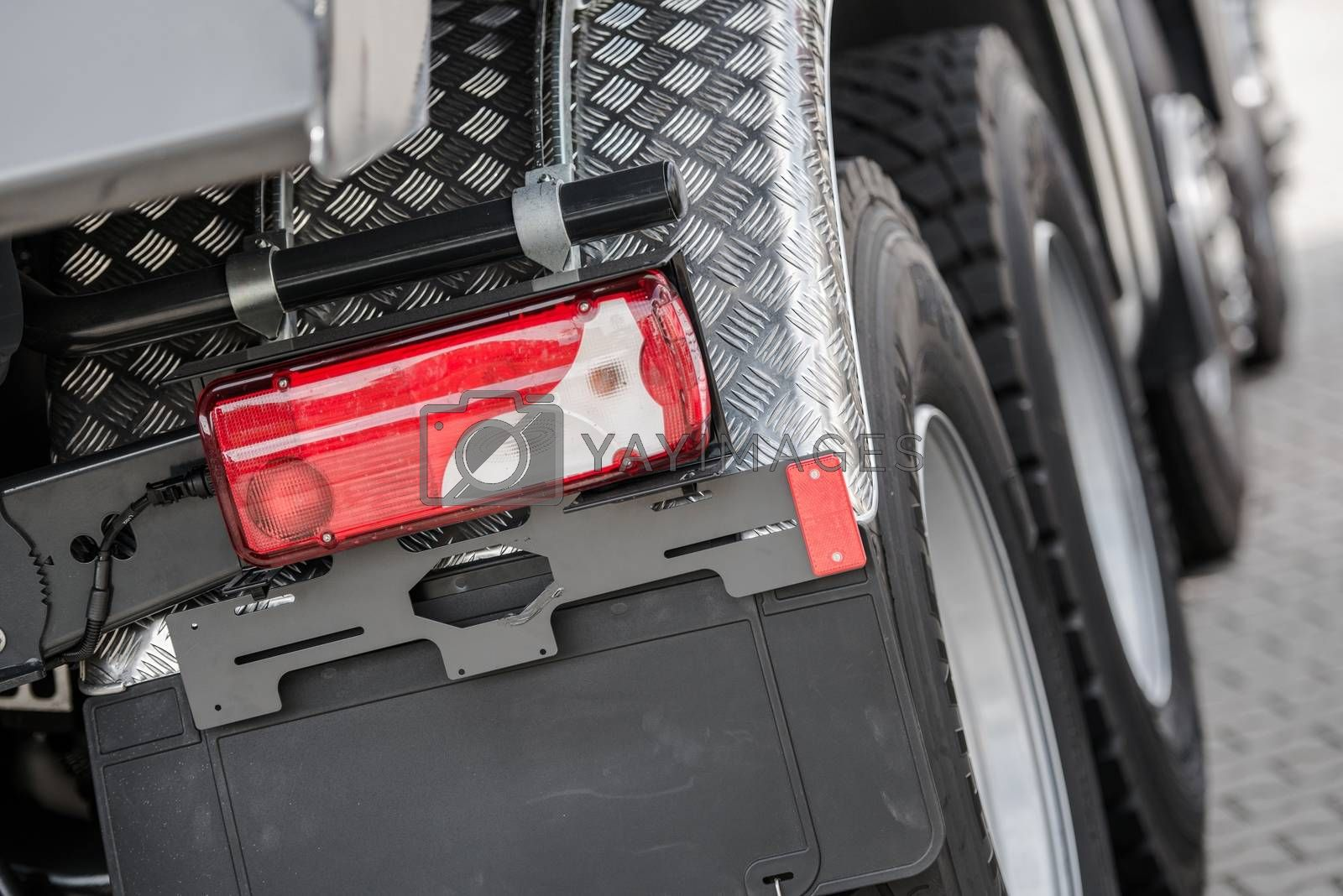 Royalty free image of Heavy Duty Truck Closeup by welcomia