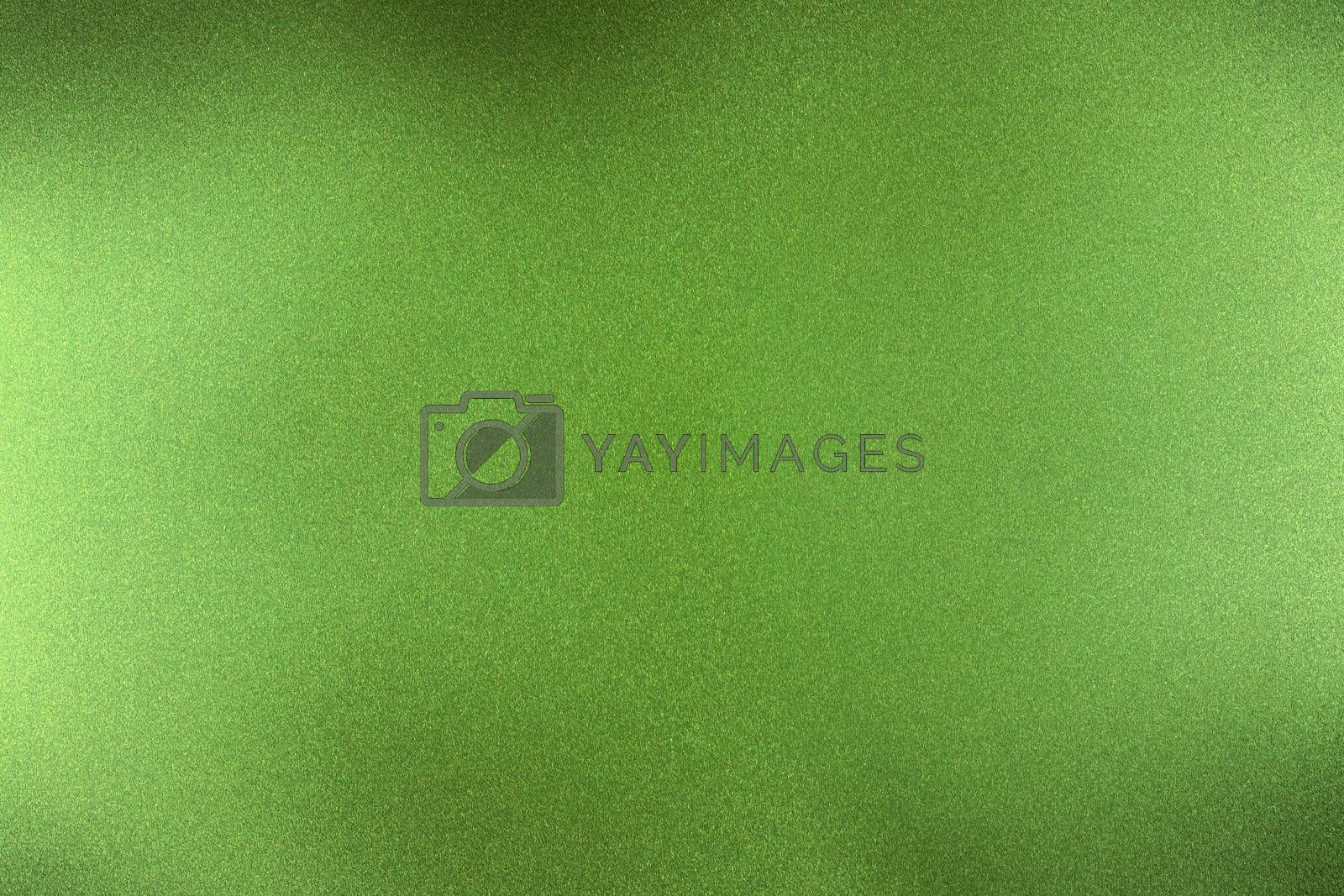Royalty free image of Brushed dark green metallic wall, abstract texture background by mouu007