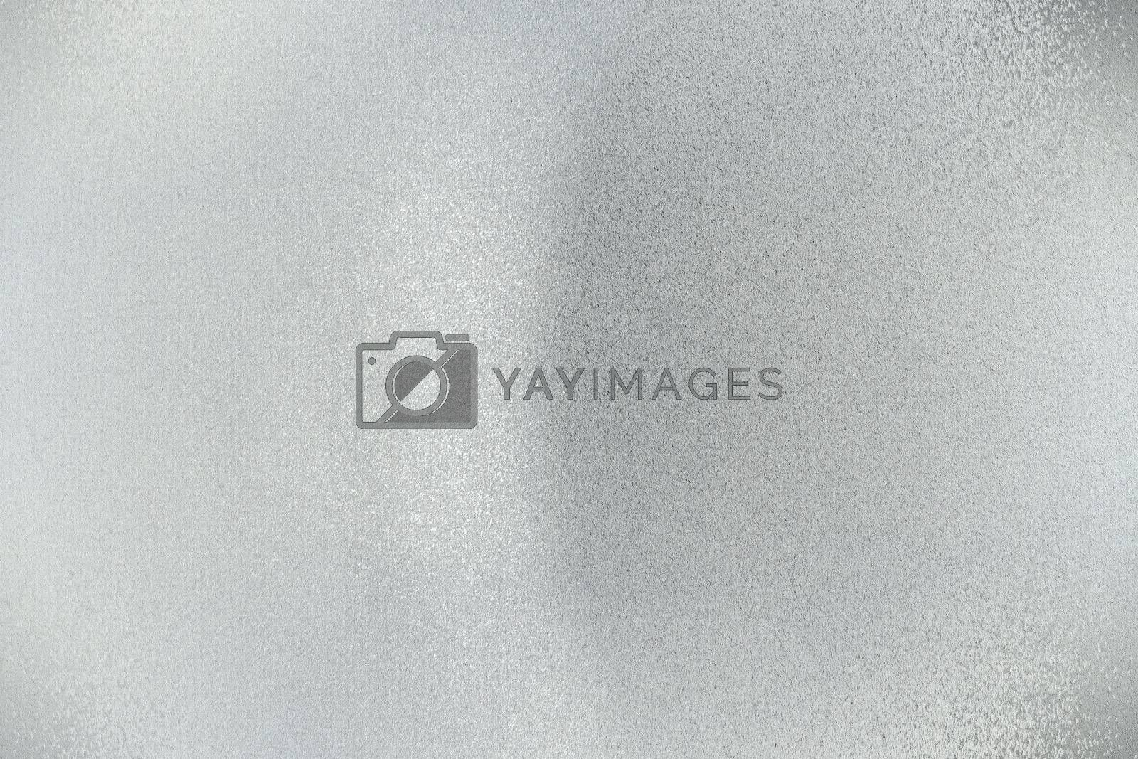 Royalty free image of Dirty silver wave metal plate, abstract texture background by mouu007