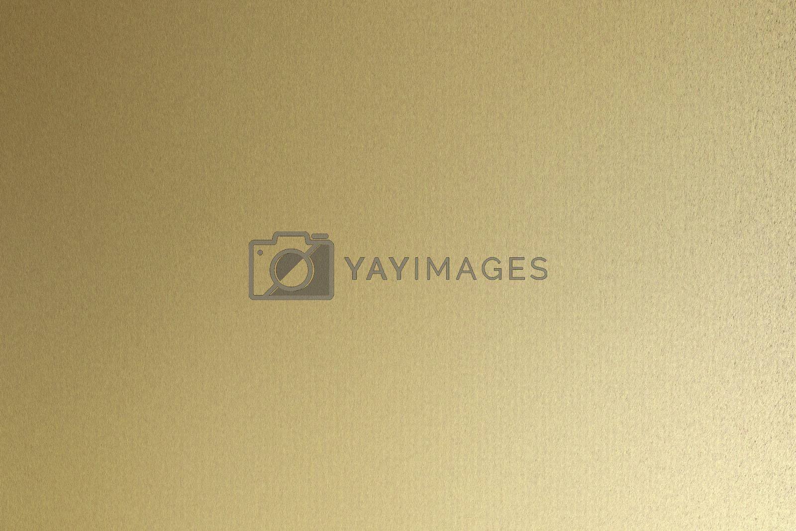Royalty free image of Rough gold metallic sheet board, abstract texture background by mouu007