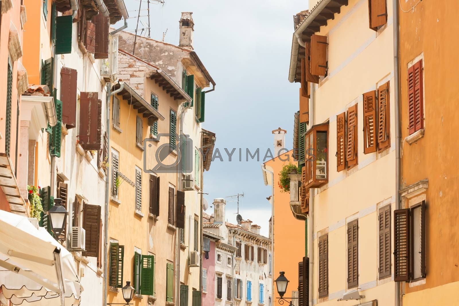 Royalty free image of Rovinj, Istria, Croatia - Living history in the streets of Rovin by tagstiles.com