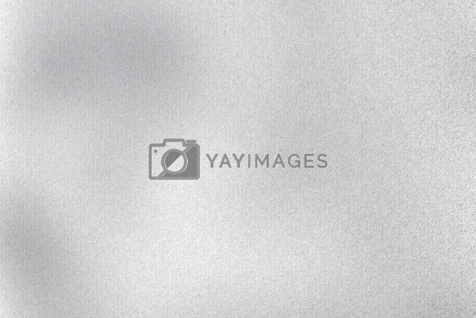 Royalty free image of Rough white metallic sheet board, abstract texture background by mouu007
