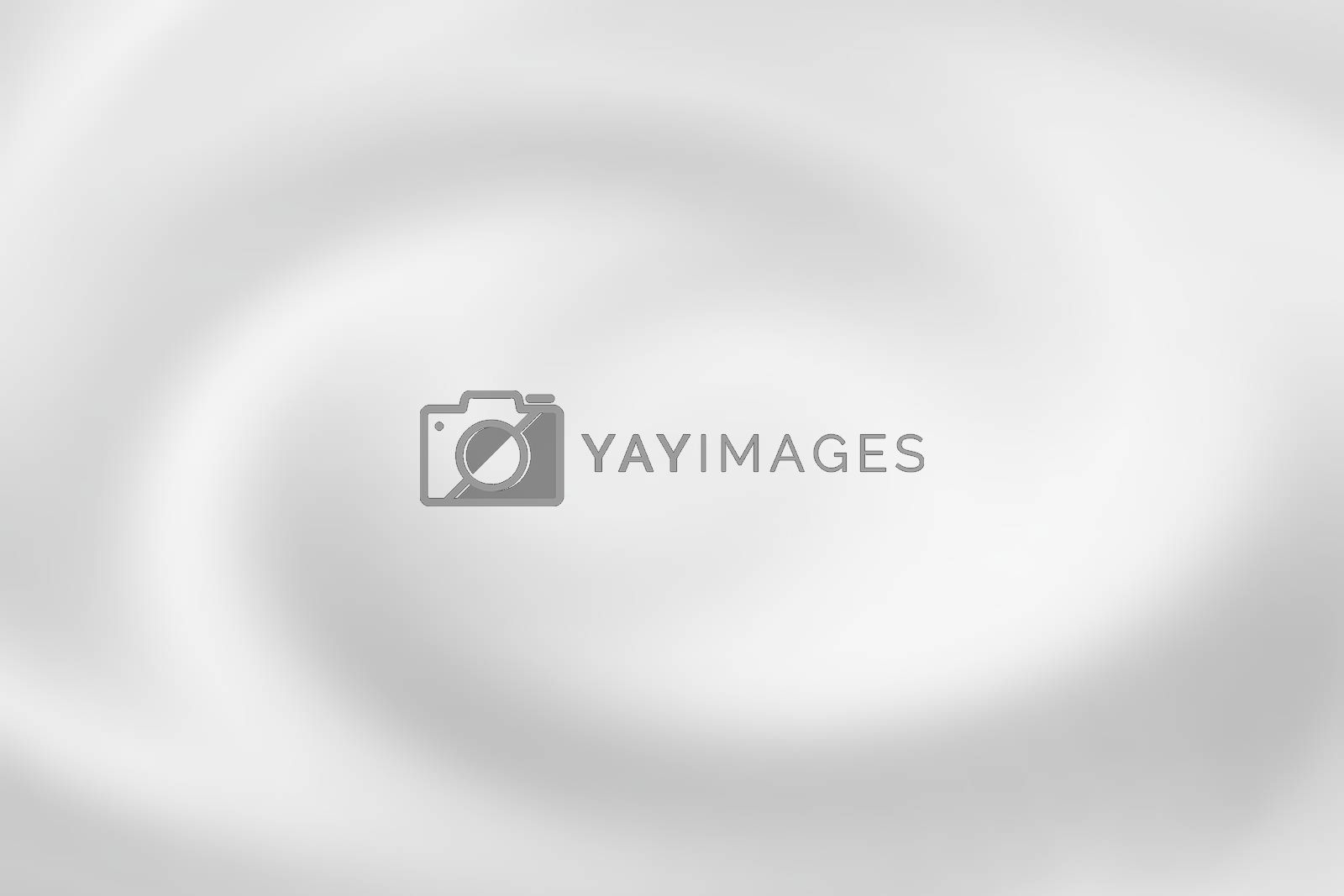 Royalty free image of Blurred white water spiral with liquid ripple, soft background texture by mouu007