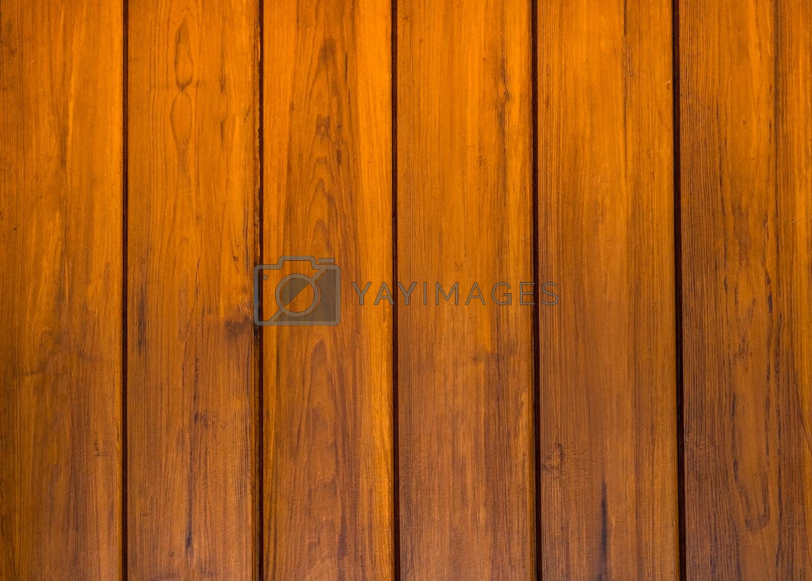 Wooden background with vertical ribbons in brown tones